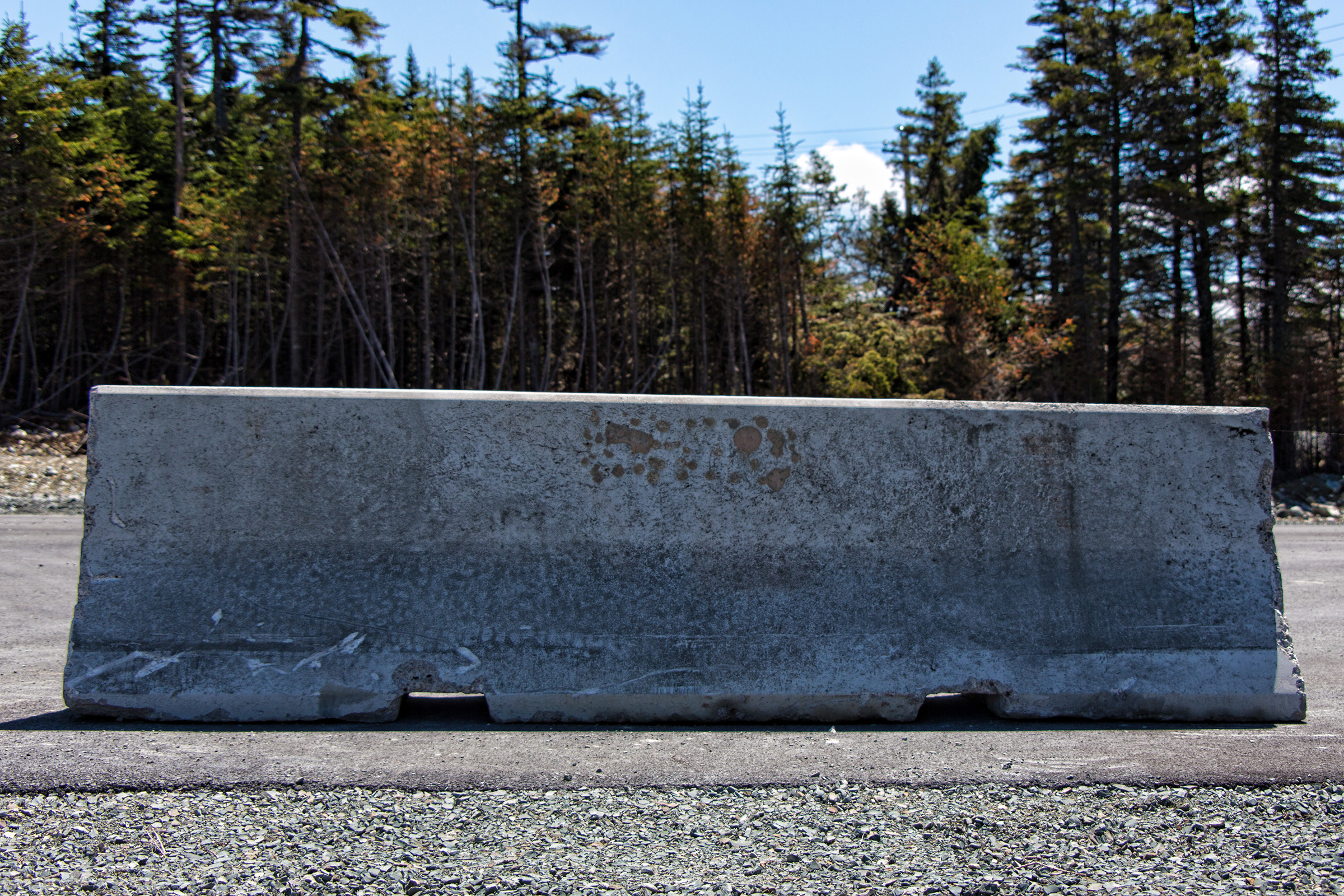 Road barrier photo