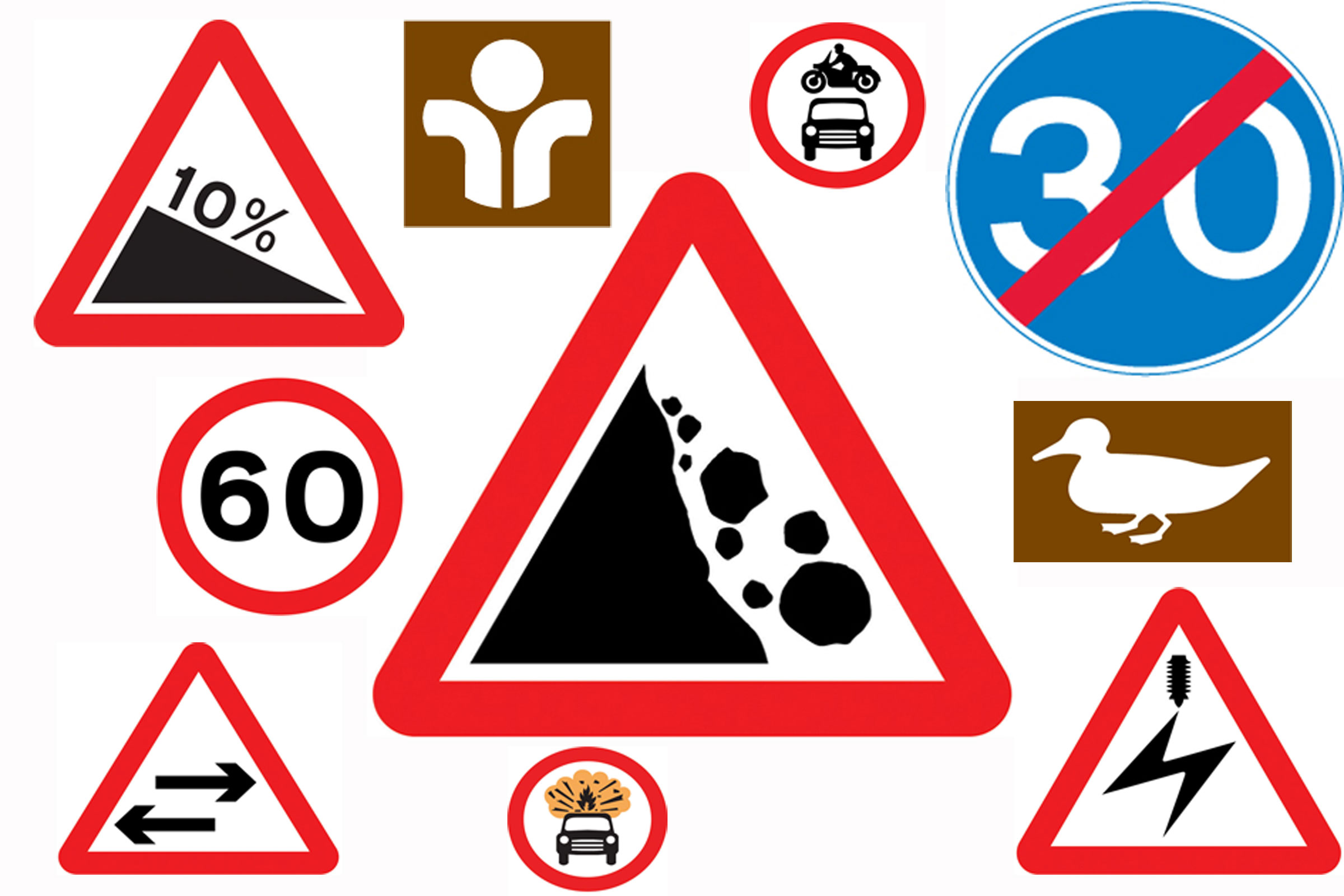 Do You REALLY Know Your Road Signs? | Playbuzz