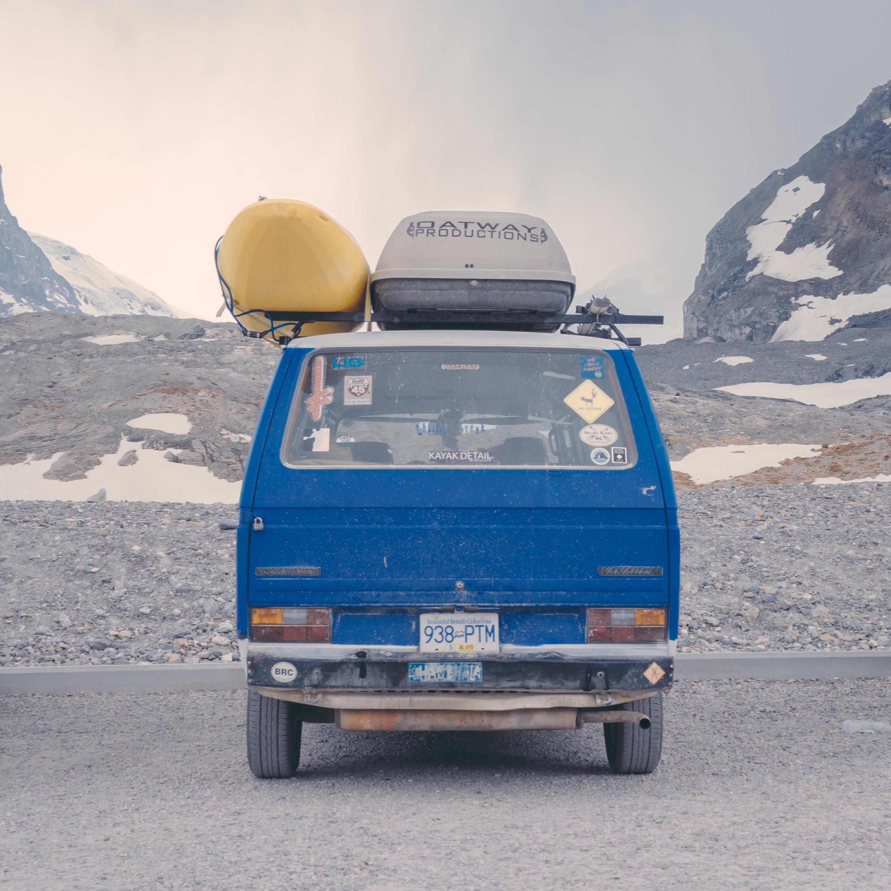 Road Trip, Blue, Car, Landscape, Mountain, HQ Photo