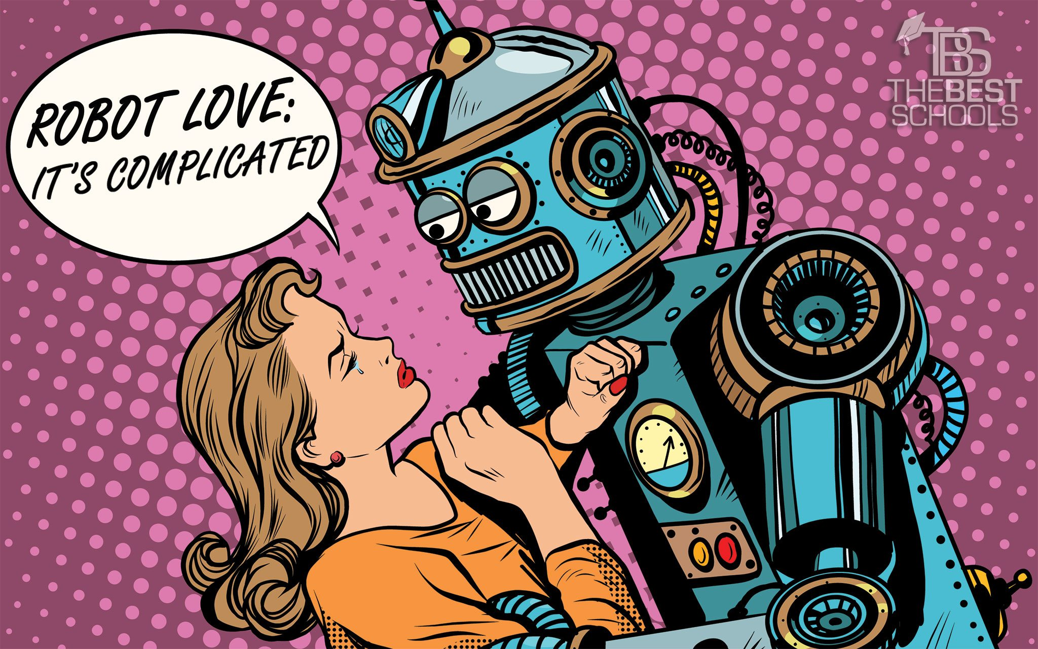 Robot love photo