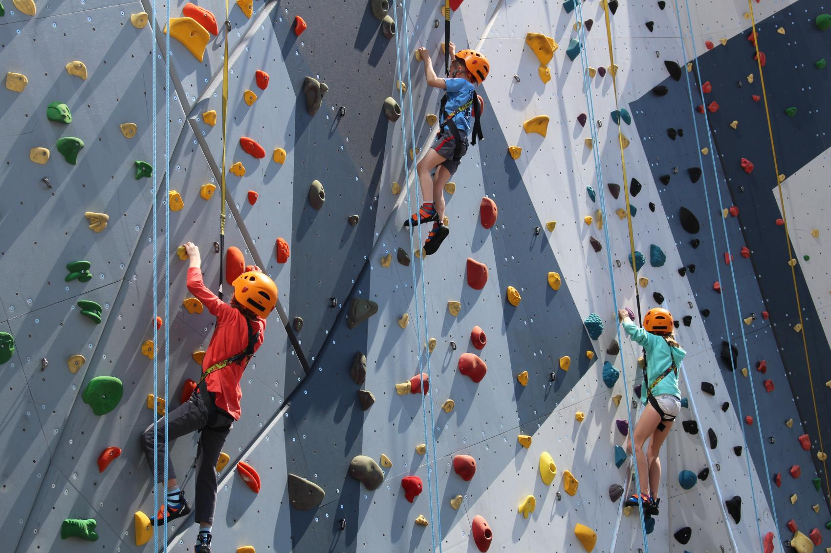 Auto-Belay (June 06, 2018) - Maggie Daley Park - Maggie Daley Park