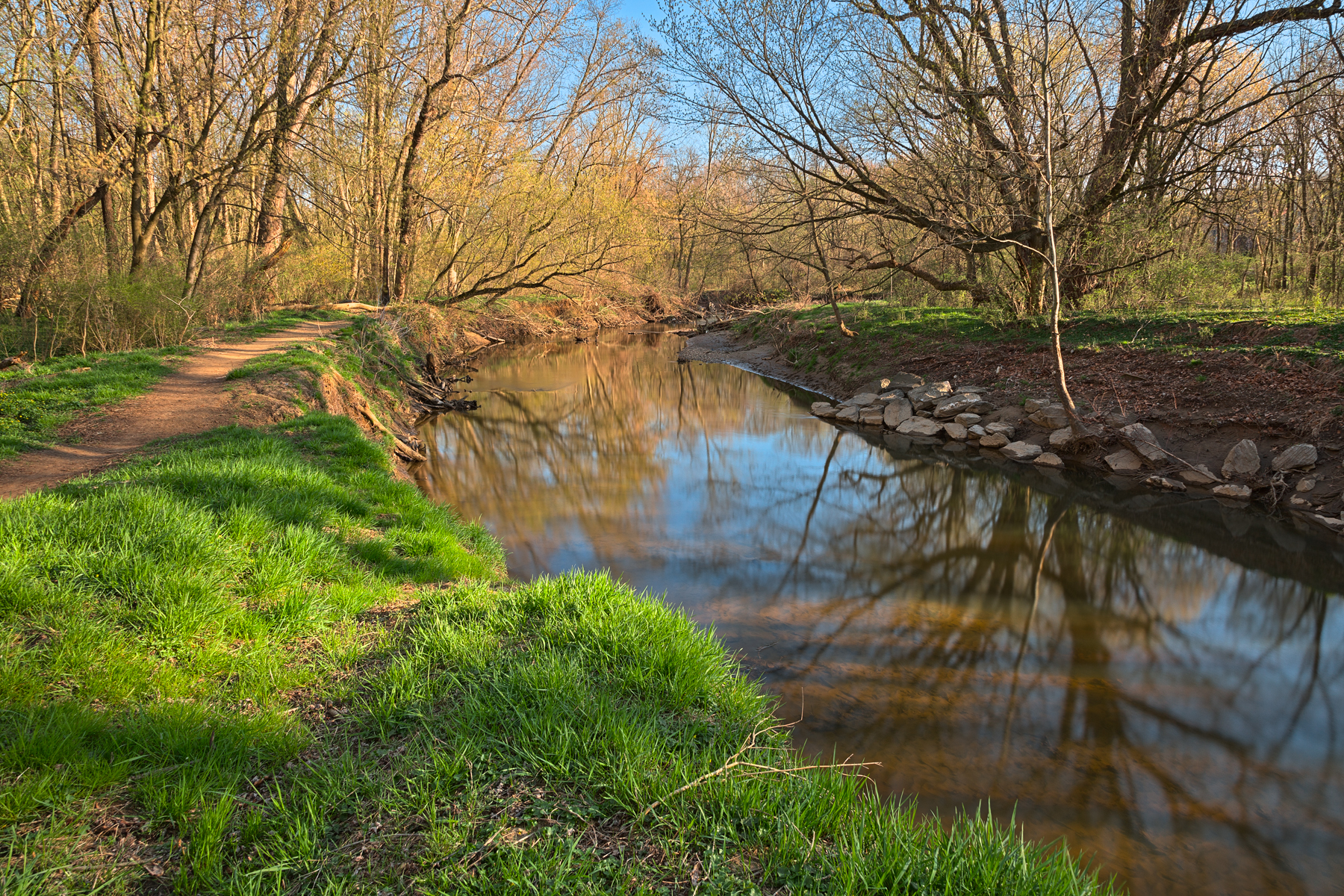 Rock creek spring - hdr photo
