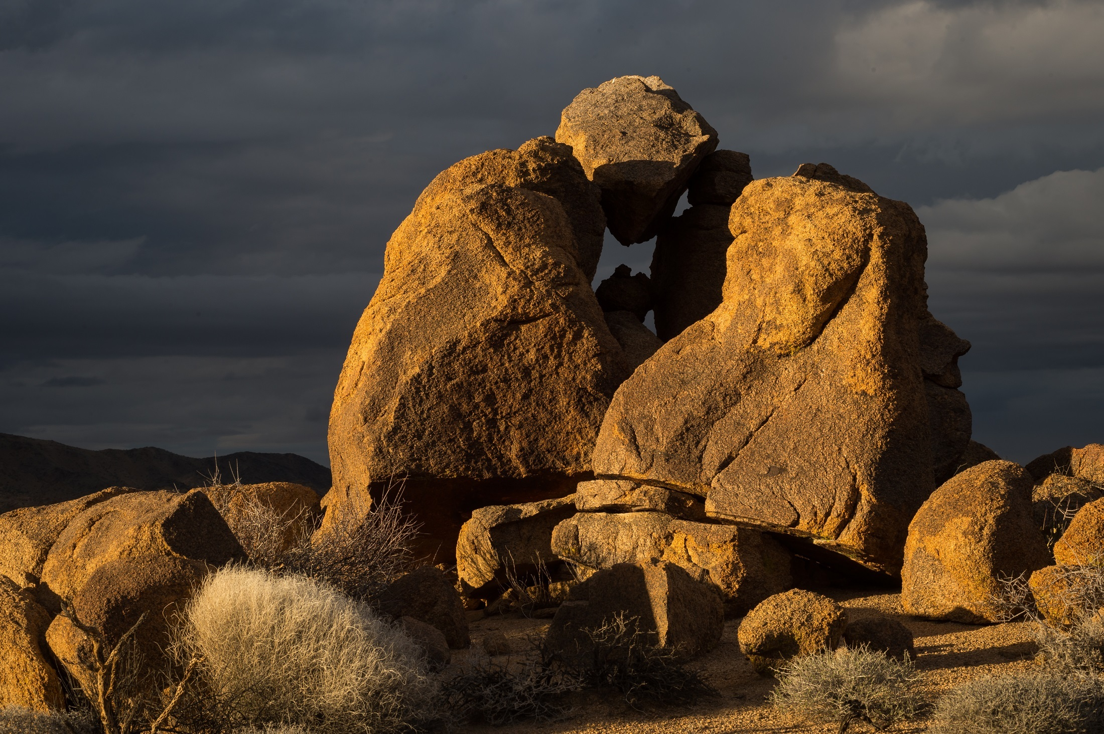 Rock formation photo