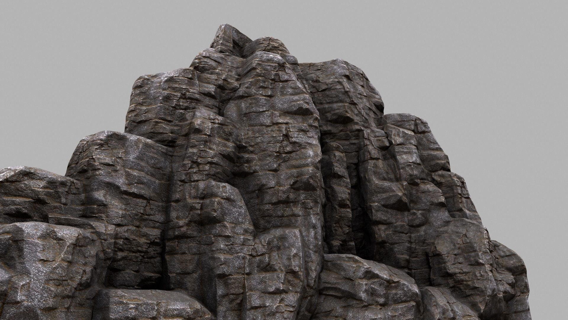 3D model realtime Rock Mountain | CGTrader