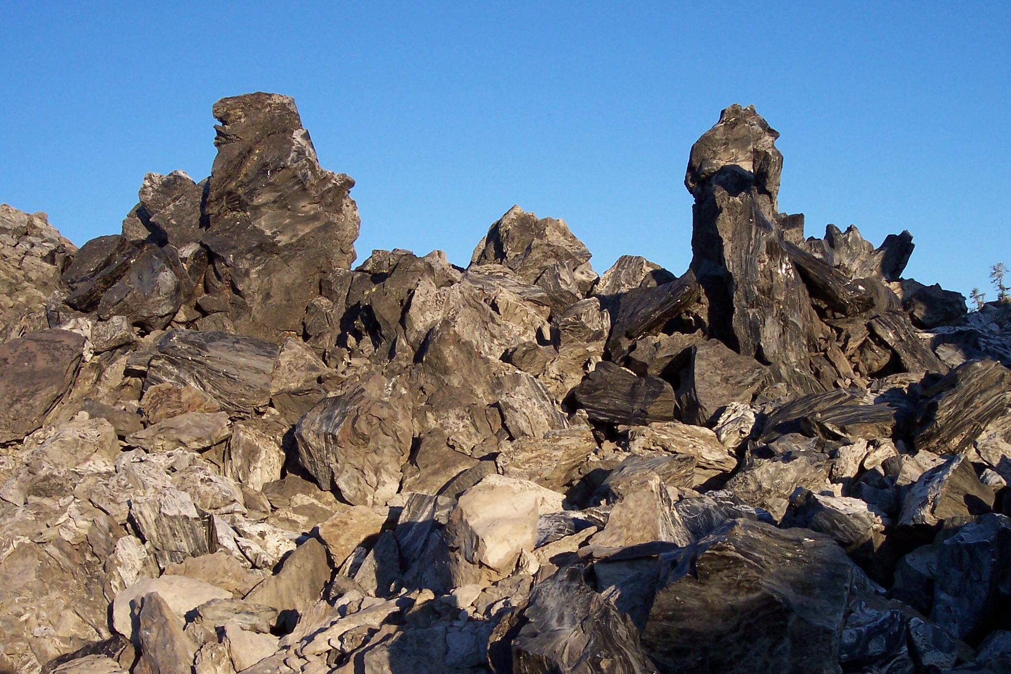 Modoc National Forest - Rocks & Minerals