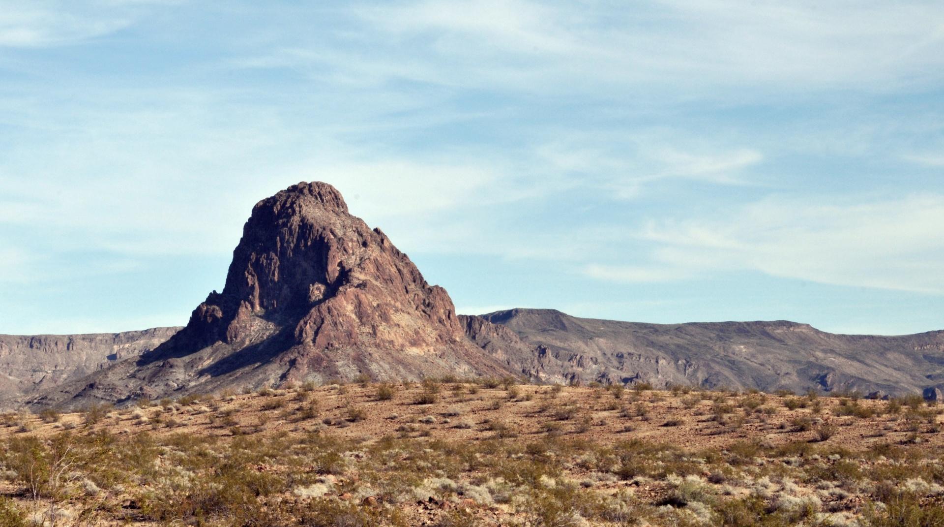 Desert Rock Mountain Free Stock Photo - Public Domain Pictures