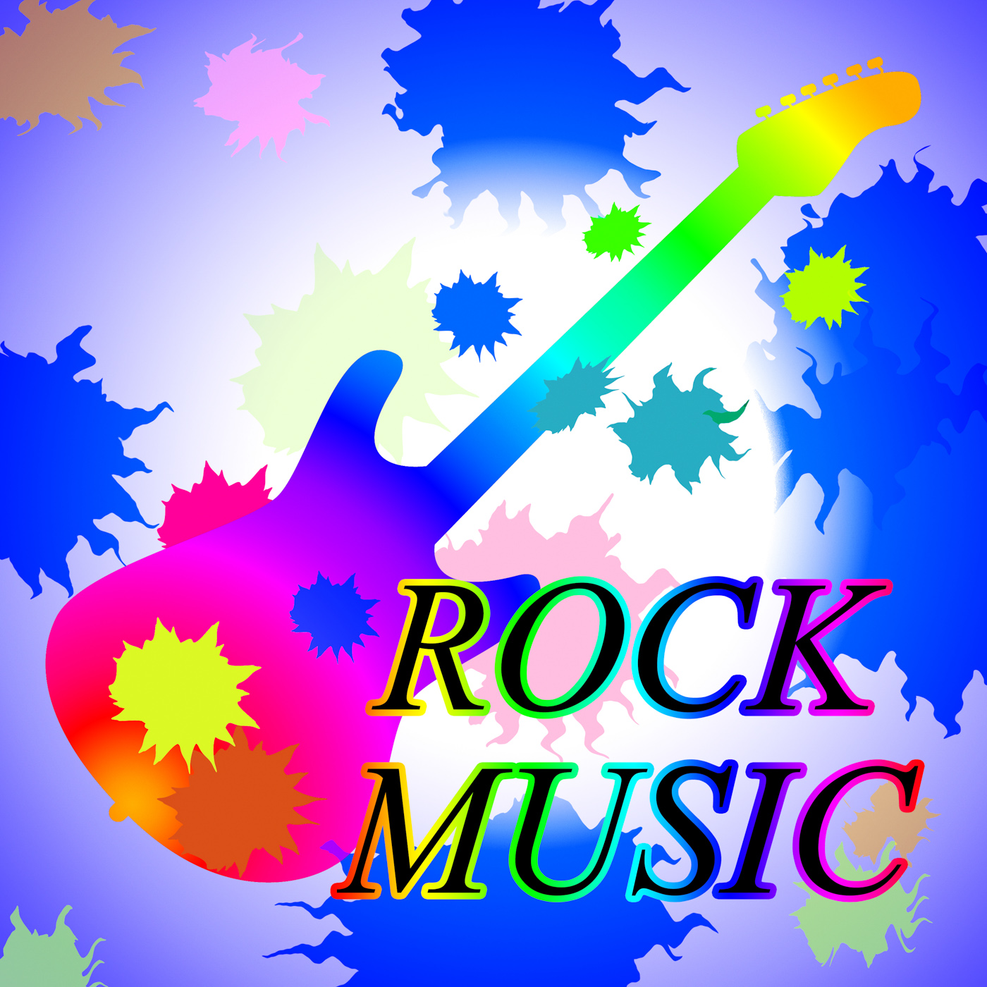 Rock music shows track soundtrack and popular photo