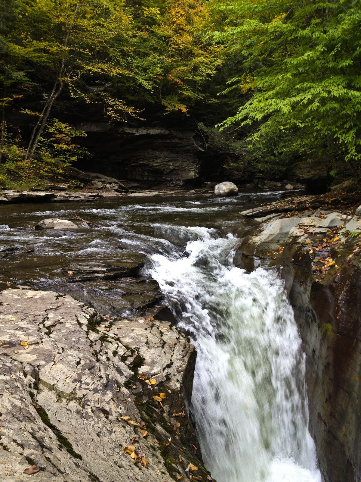 Free photo: Rock Run Falls - , Shades, Scenery - Free ...