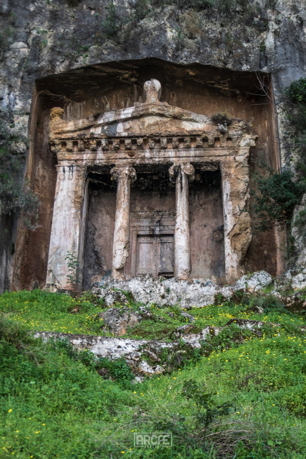 Amynthas Rock Tomb, Fethiye, Turkey - The Rock Tombs of Fethiye...