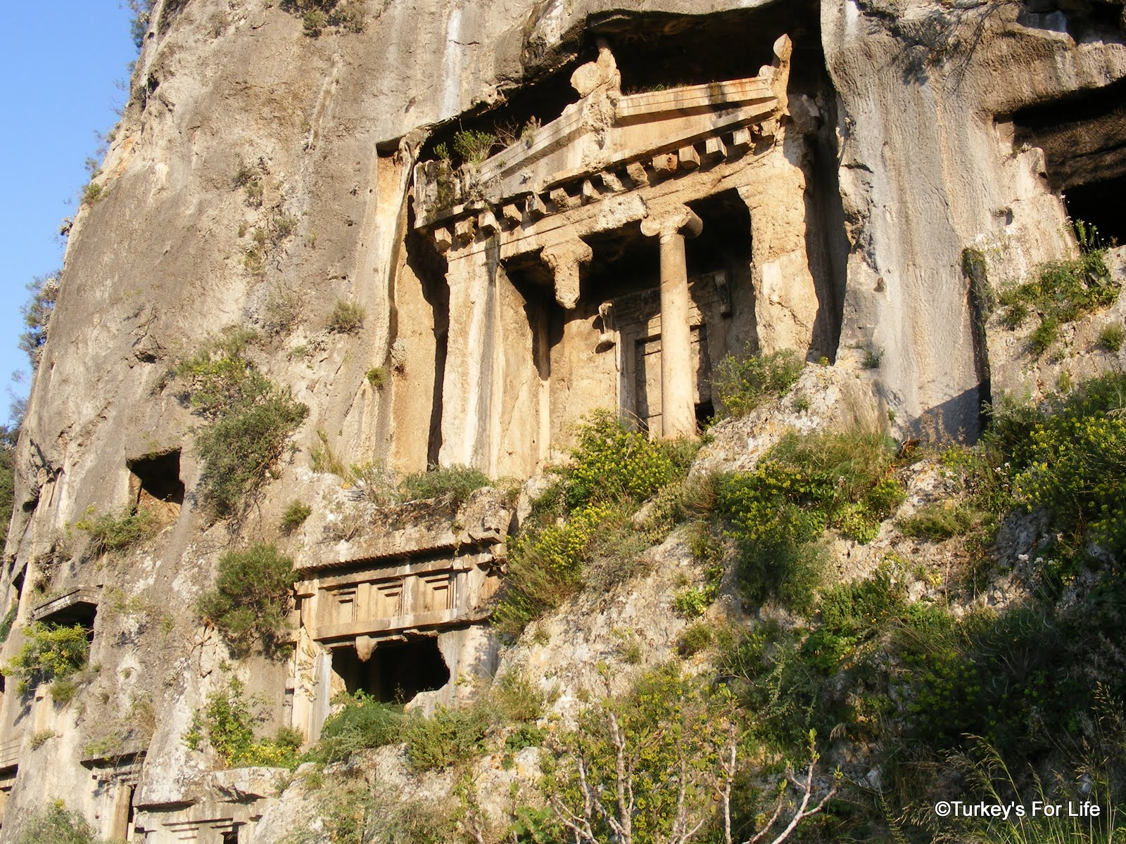 Fethiye's Lycian Rock Tombs • Turkey's For Life