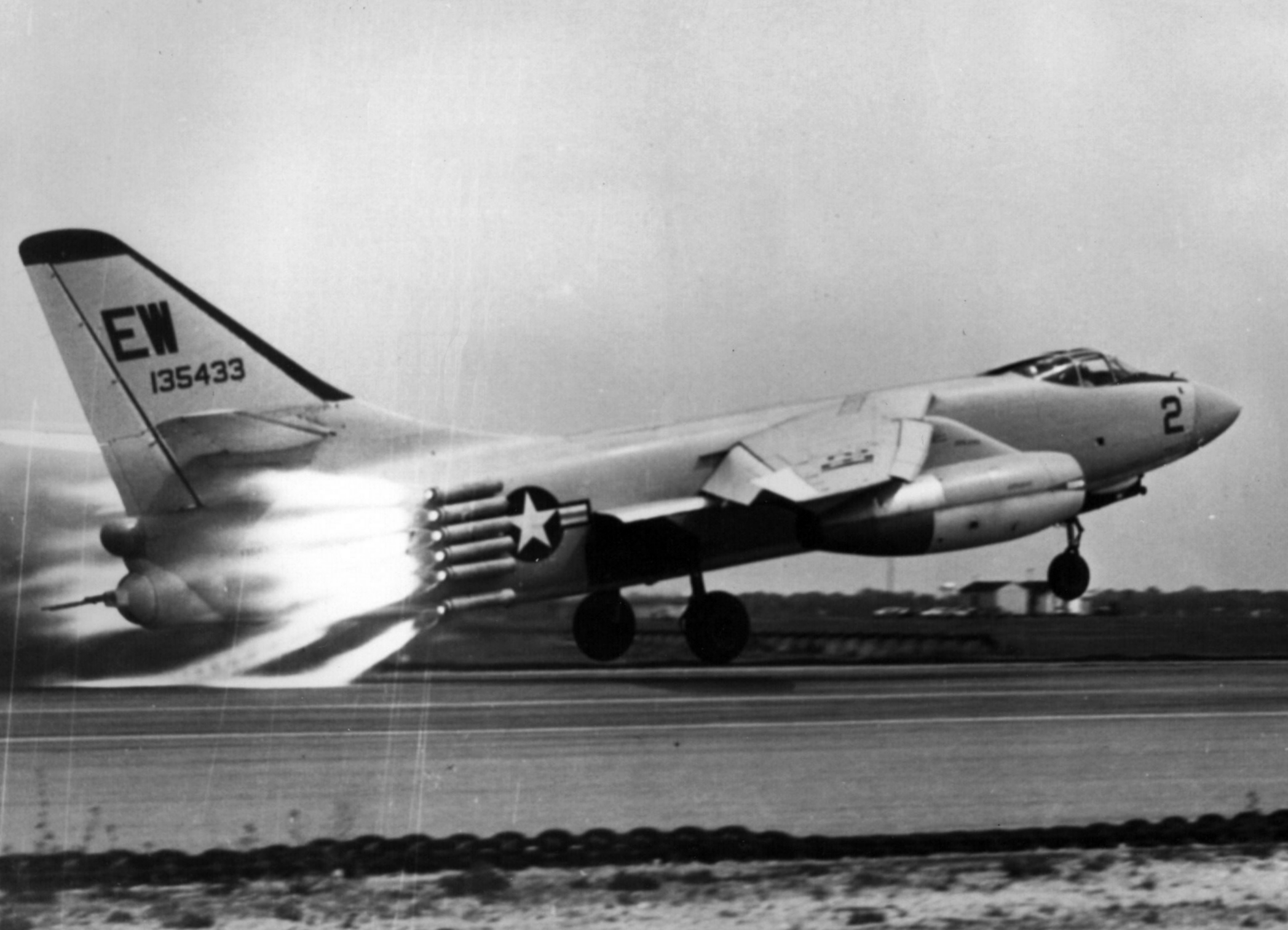 Rocket assisted takeoff photo