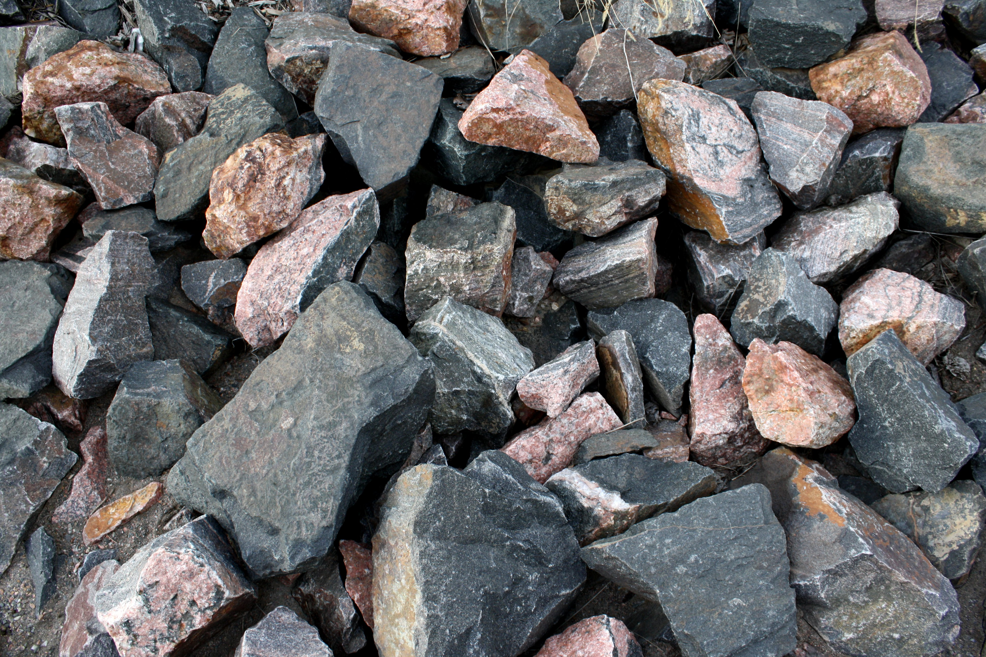 Big Black and Red Rocks Texture Picture | Free Photograph | Photos ...