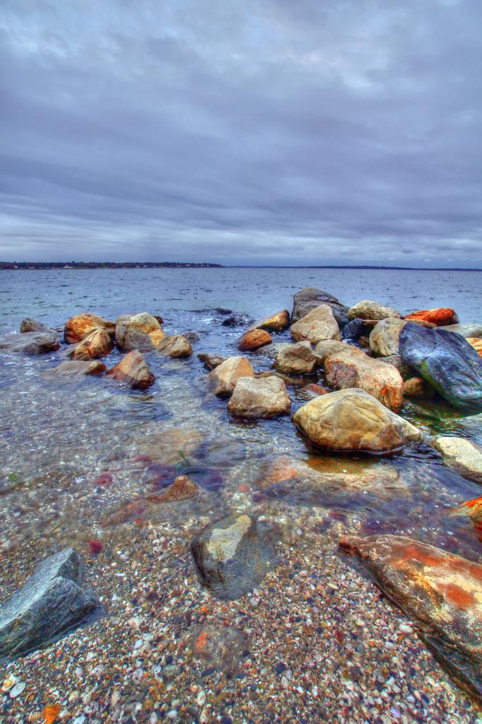 Rocks at the beach, Beach, Rocks, Sand, Sea, HQ Photo