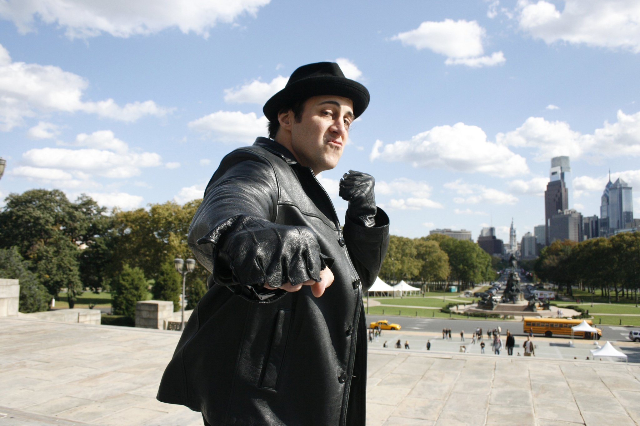 Would Philly museum plan ruin famous 'Rocky' film steps? - Chicago ...