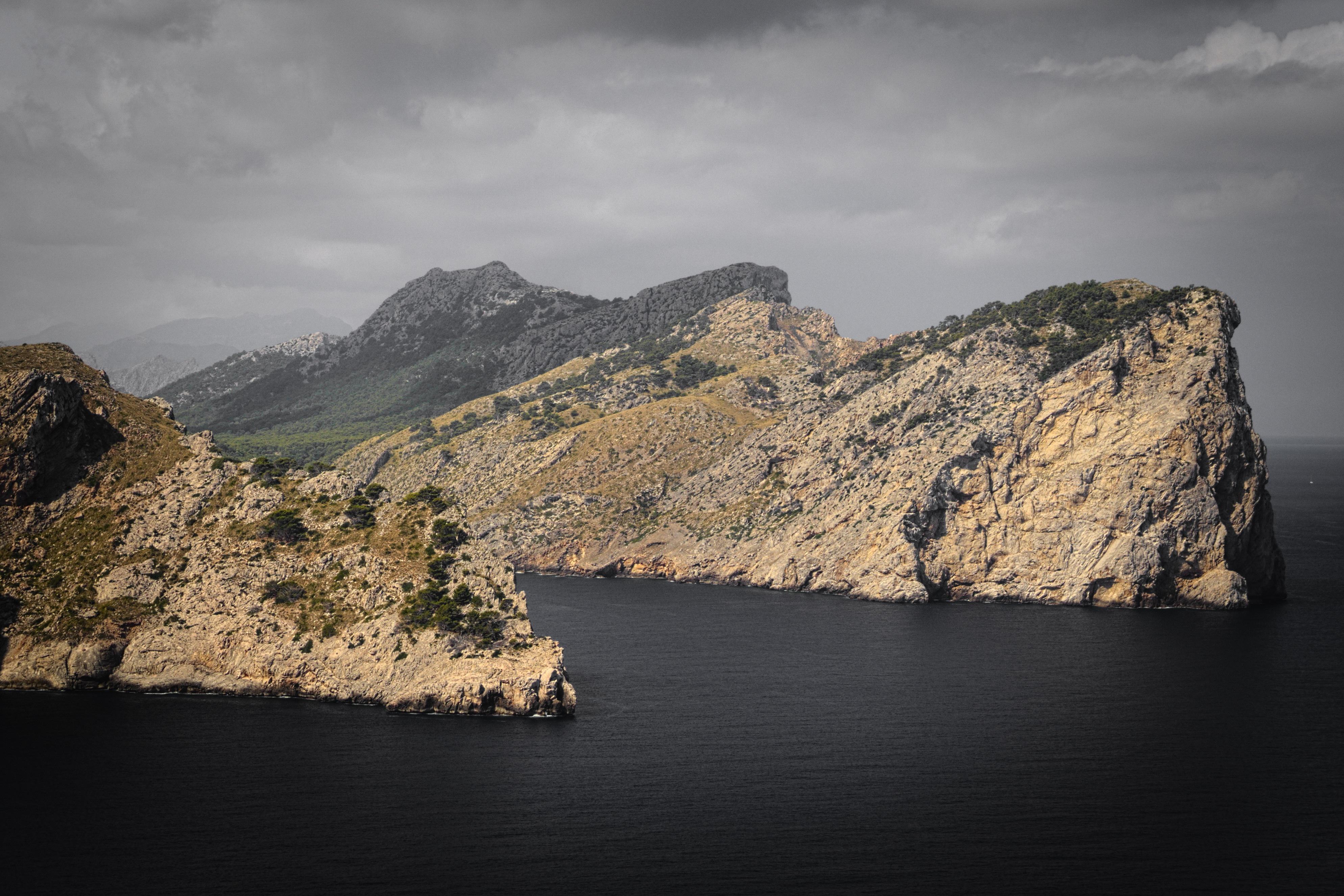 Rocky, Blue, Flow, Landscape, Mountain, HQ Photo