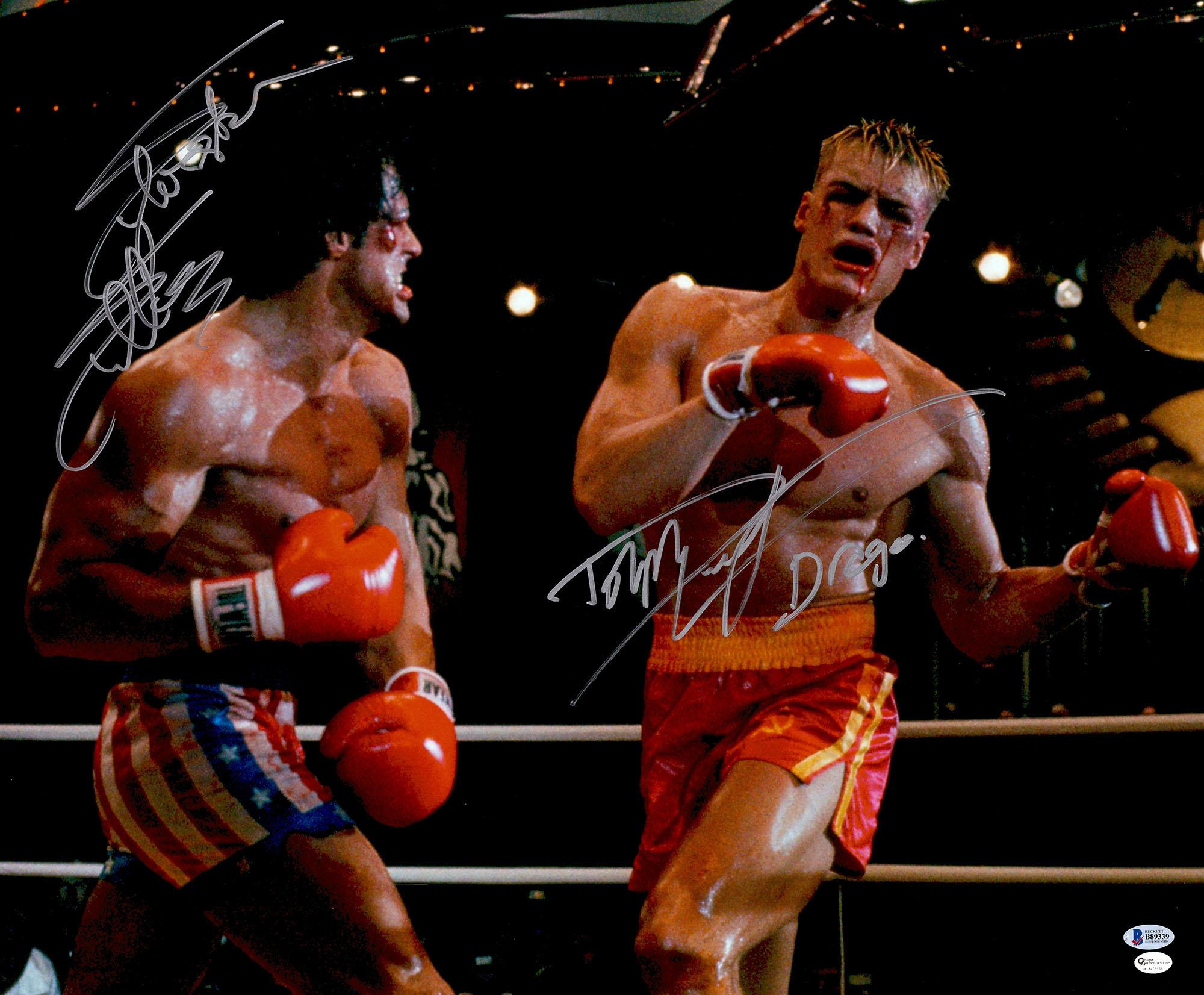 Rocky Memorabilia: Autographed Pictures, Authentic Signed Props