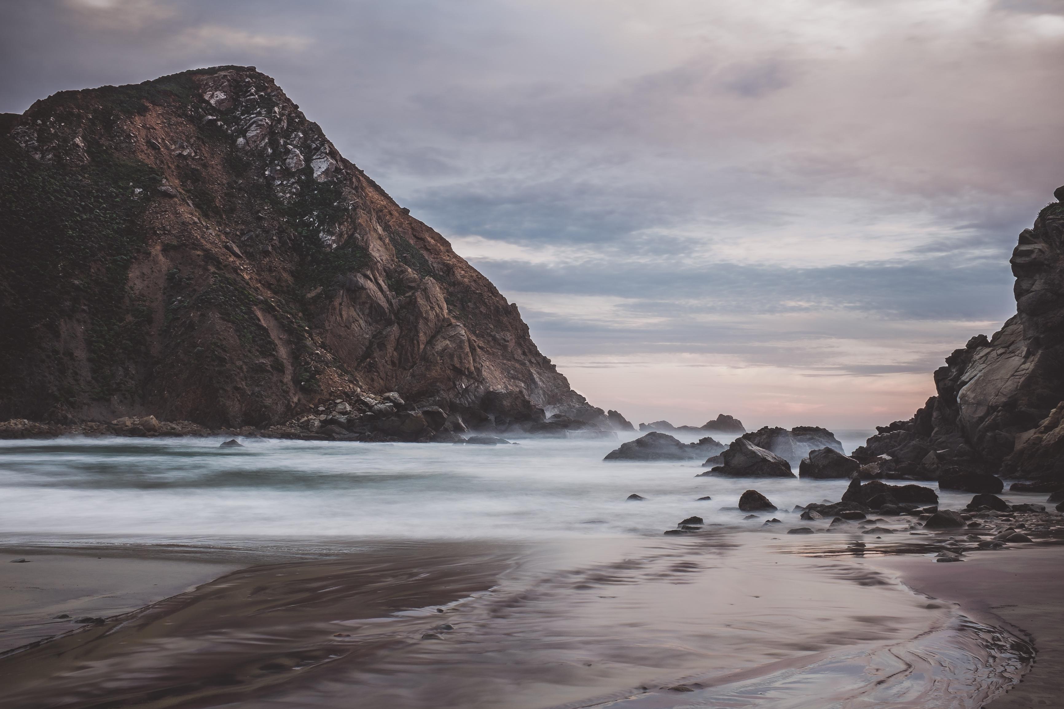 Rocky, Flow, Landscape, Mountain, Rock, HQ Photo