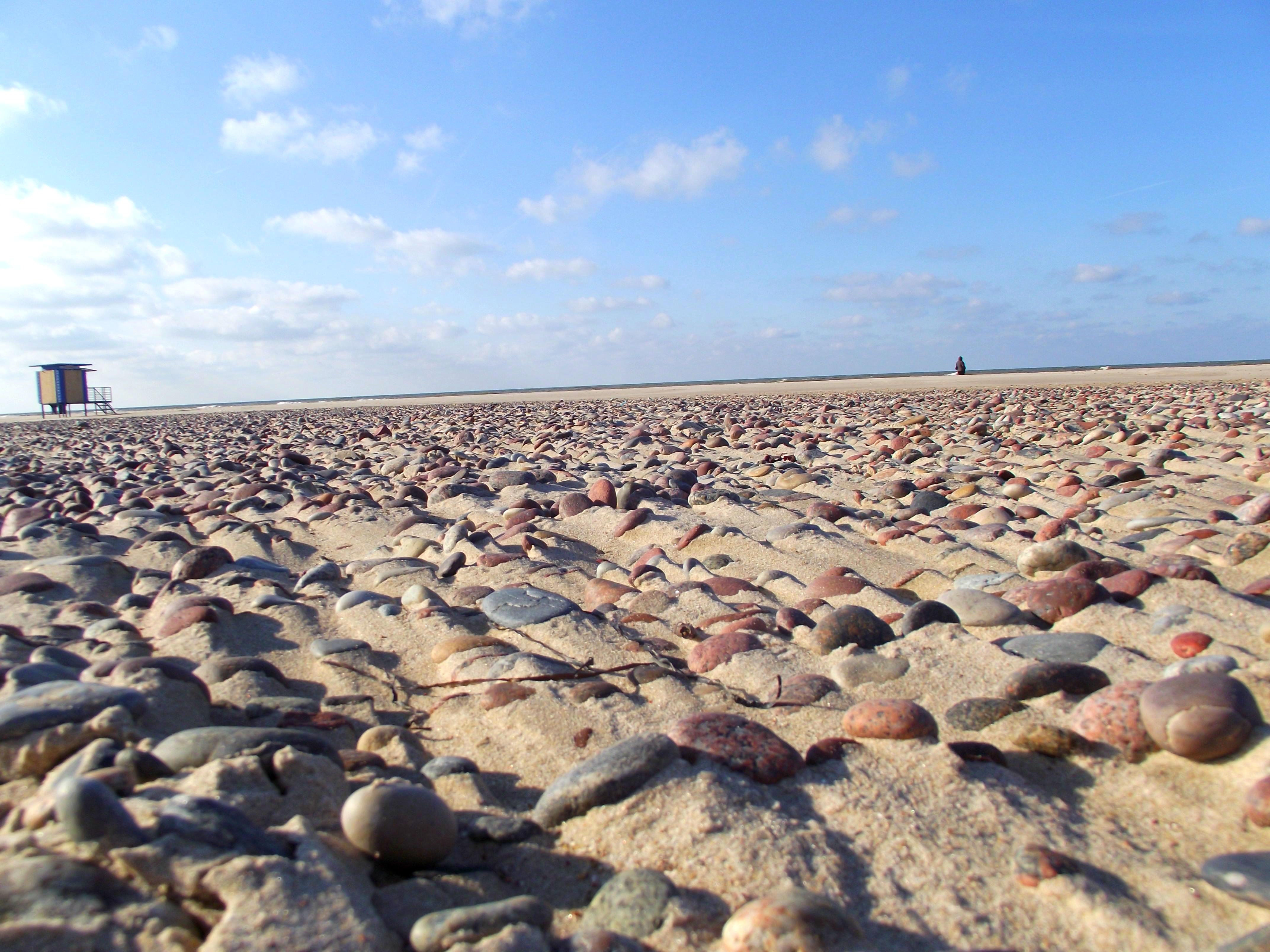 Rocky beach, Beach, House, Landscape, Lifeguard, HQ Photo