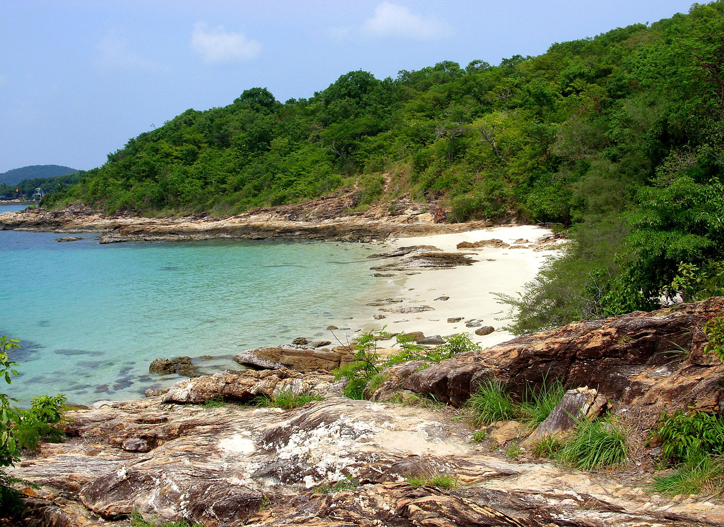 Rocky beach - Koh Samet, Thailand, Beach, Rocky, Samed, Sea, HQ Photo