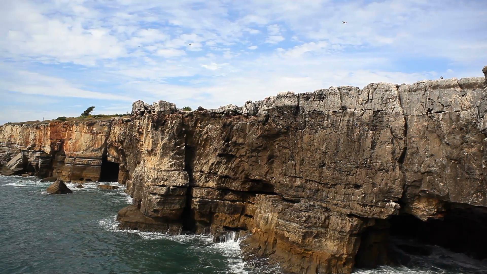 Rocky cliffs photo