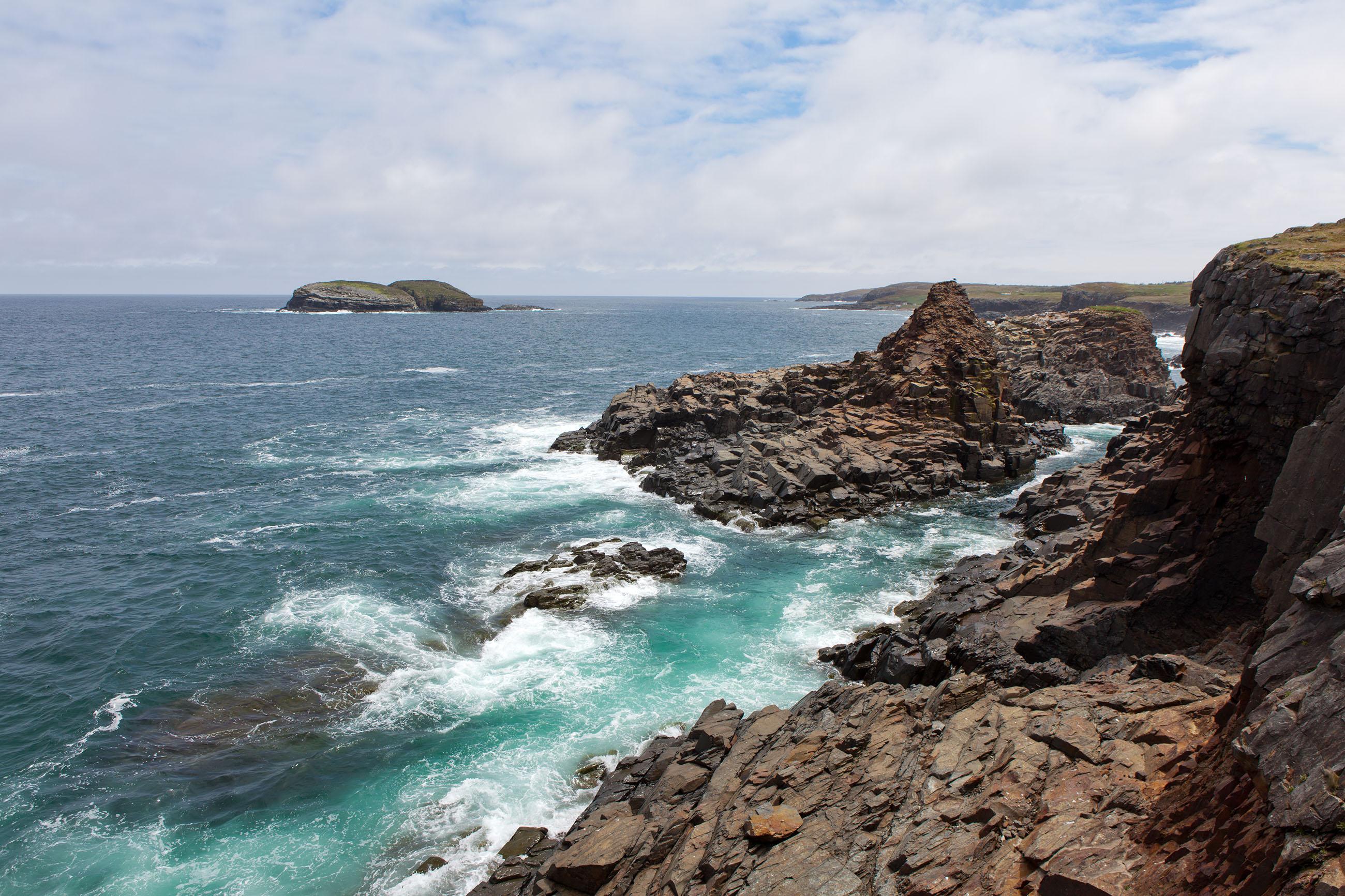 Rocky Coastline, Atlanticocean, Sea, Remote, Rock, HQ Photo