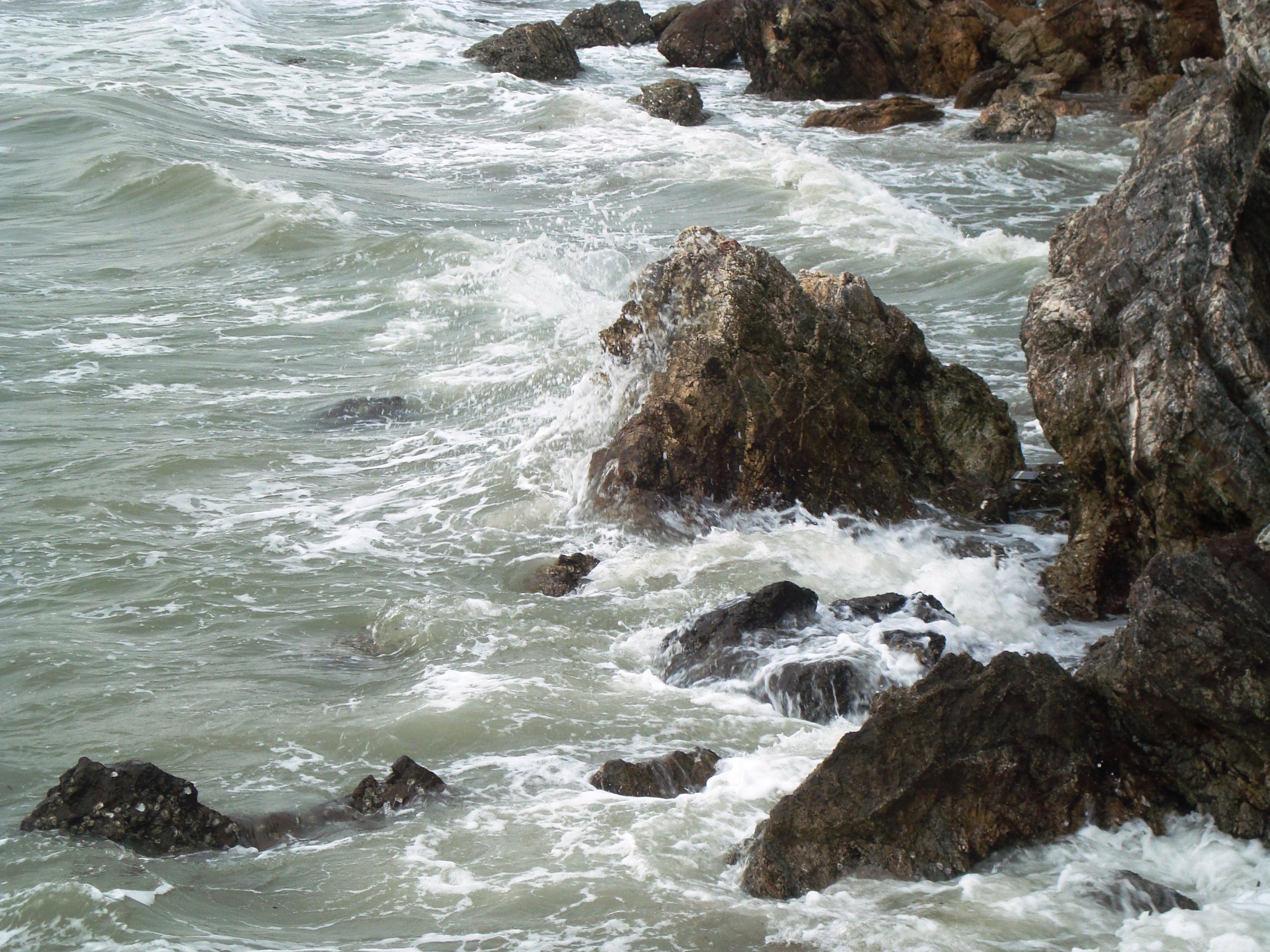 Rocky coastline photo
