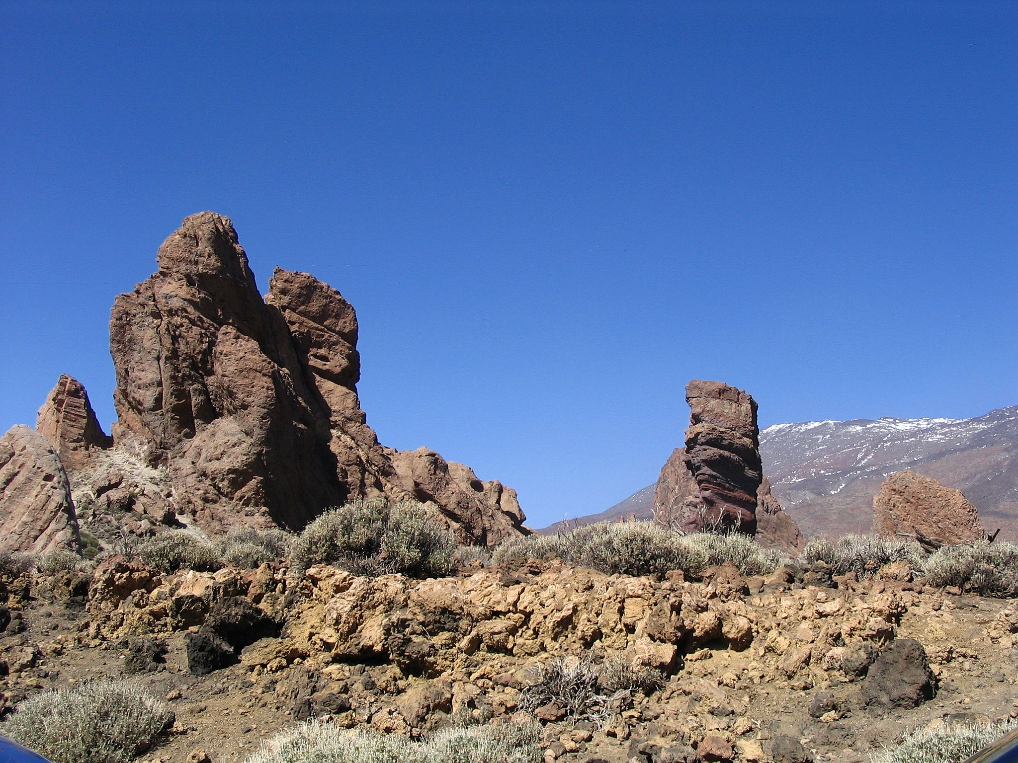 Rocky landscape photo