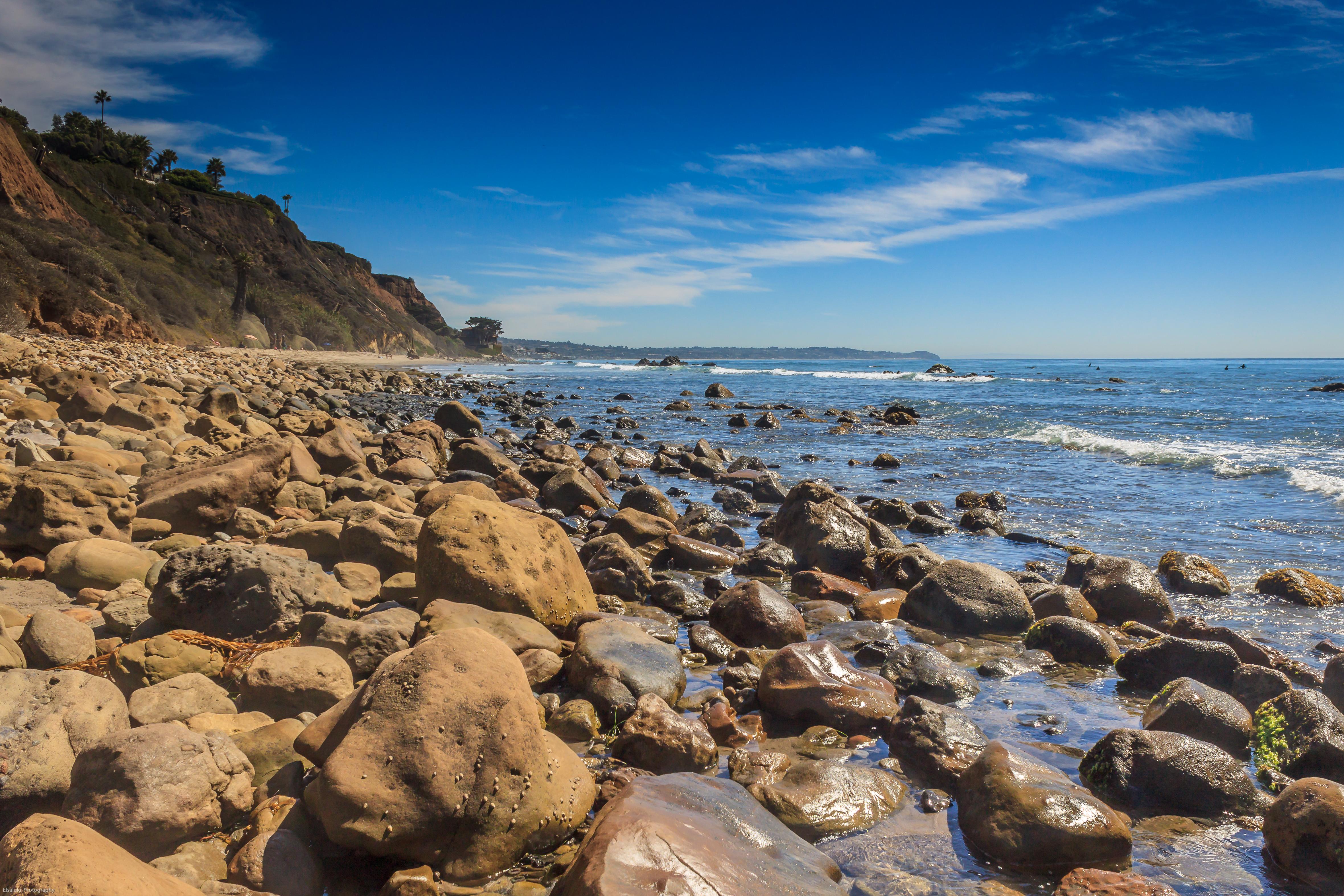 rocky shore   SoCal Walking Photography