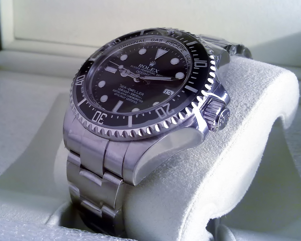 Rolex sea-dweller deepsea photo