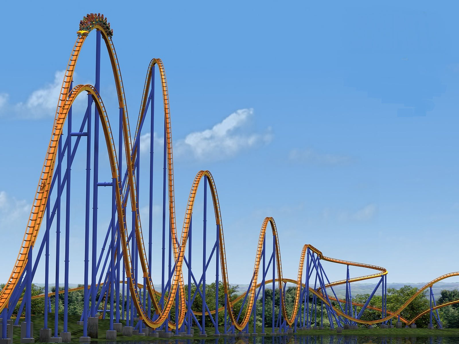 The 10 Craziest Roller Coaster Rides for Thrill Seekers | Brit + Co