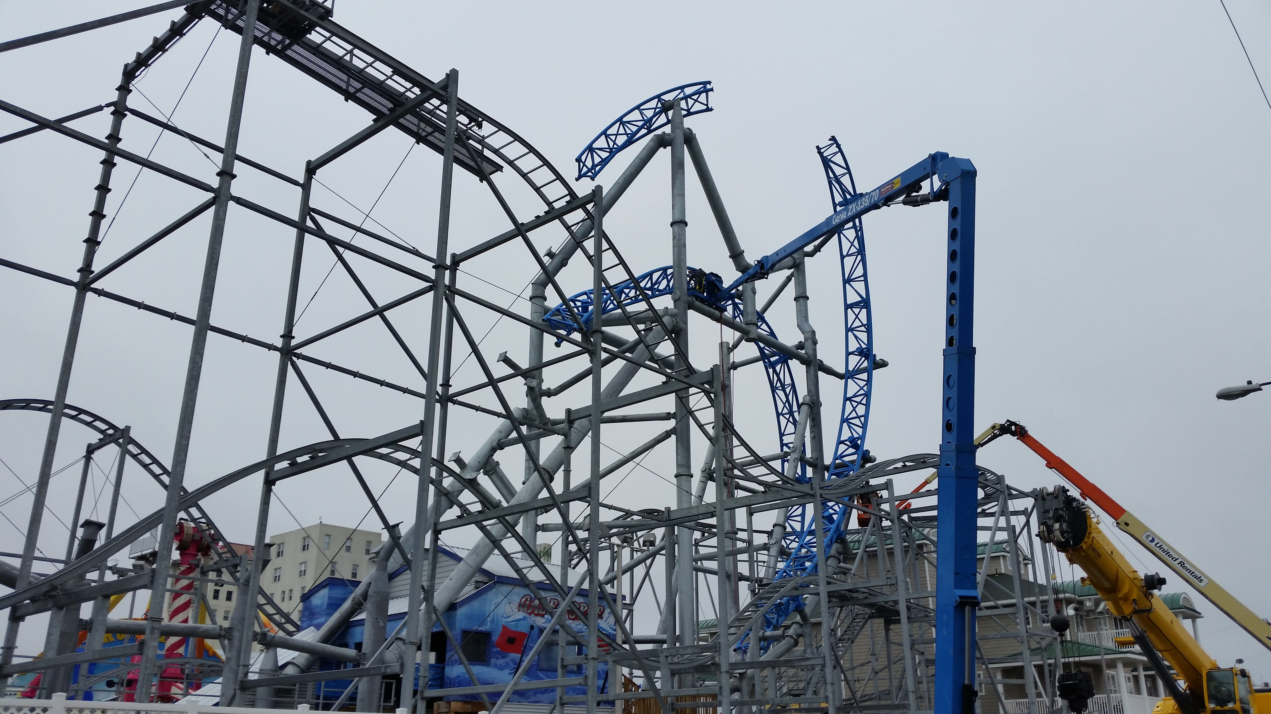 Ocean City Roller Coaster Getting New Track for Smoother Rides ...