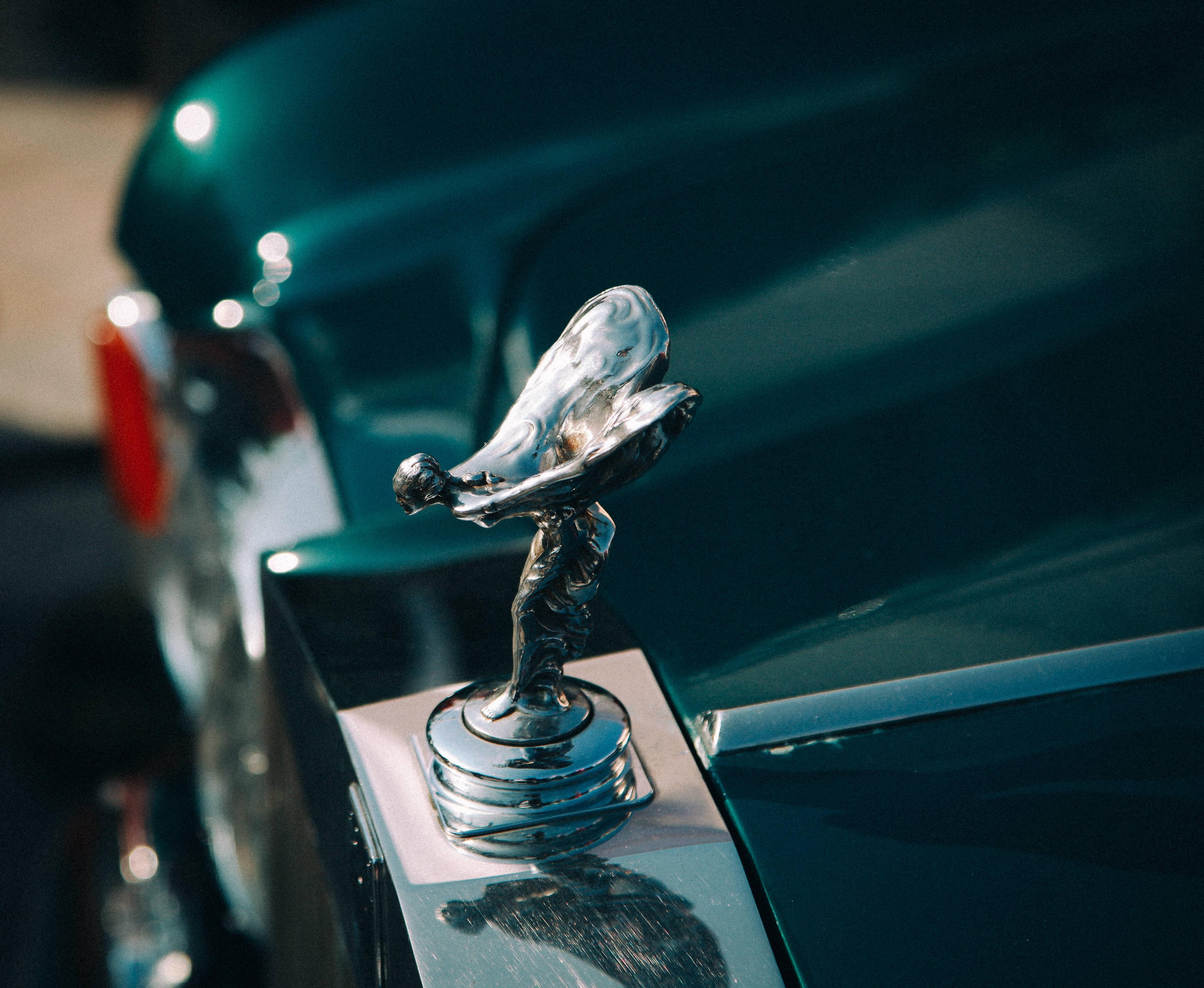 Free Photo Rolls Royce Logo Car Chrome Close Up Free Download Jooinn