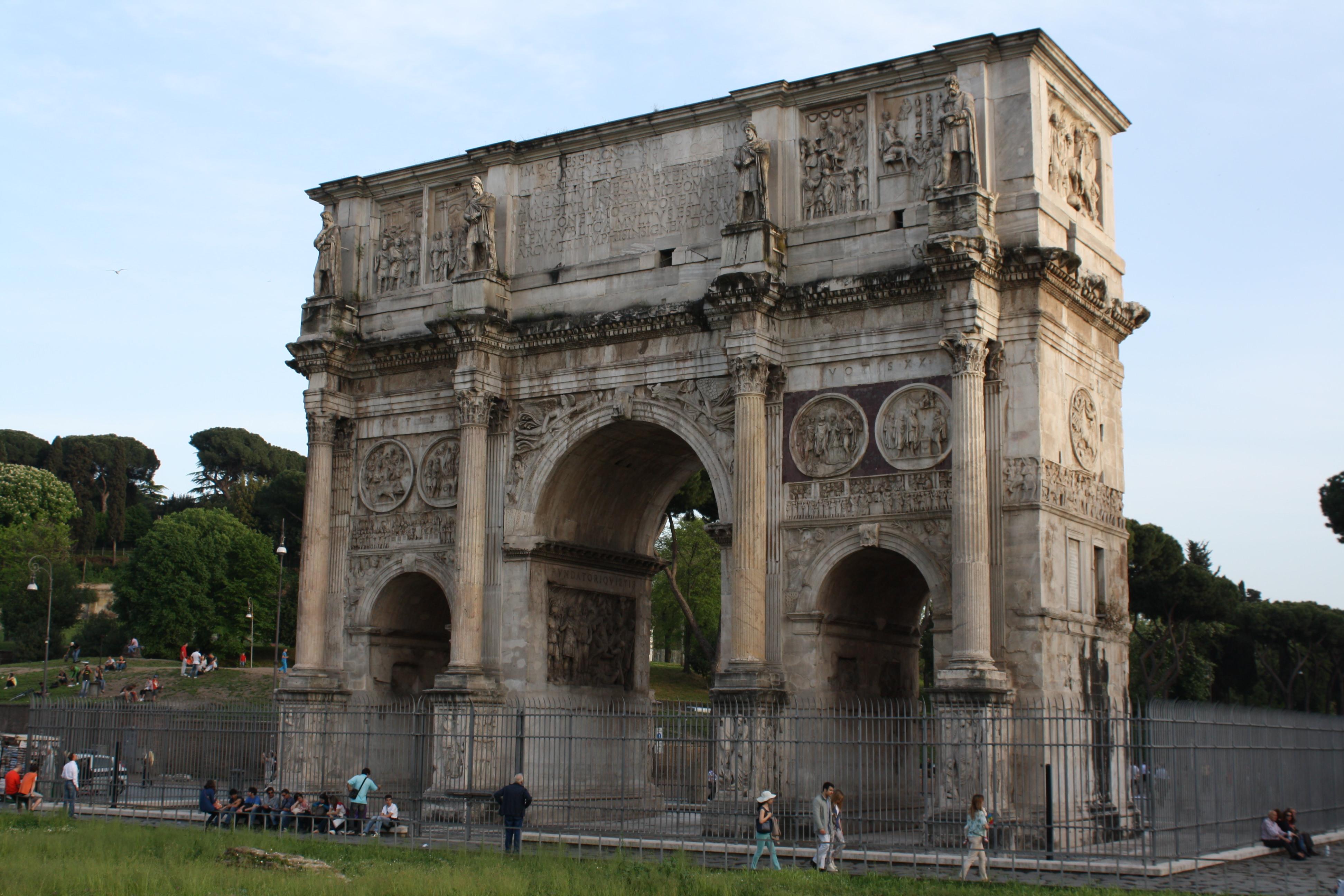 Roman archway photo