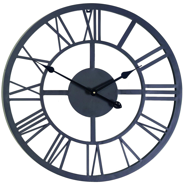 Amazon.com : Gardman 8450 Giant Roman Numeral Wall Clock, 21.5