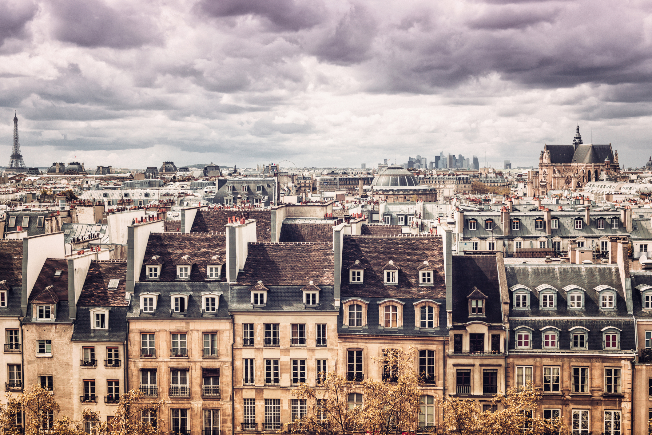 Parisian rooftops aiming for Unesco status