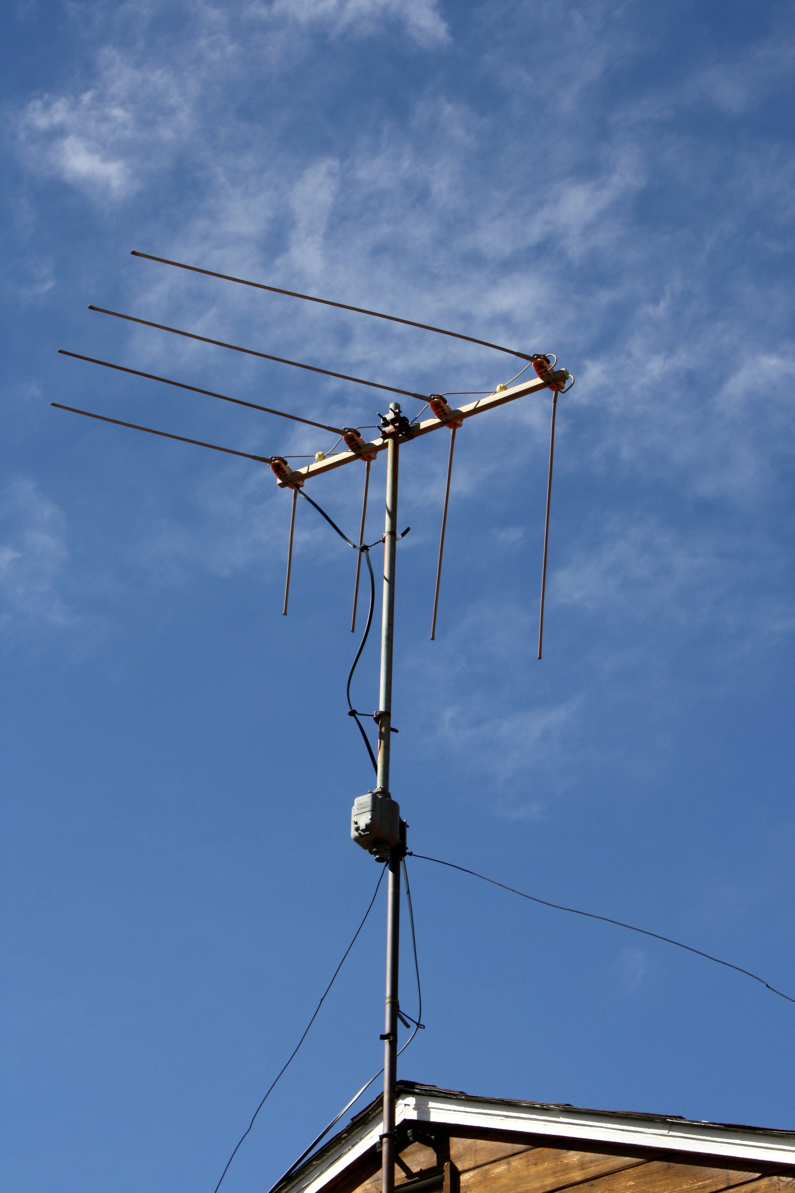 Rooftop Television Antenna Picture | Free Photograph | Photos Public ...