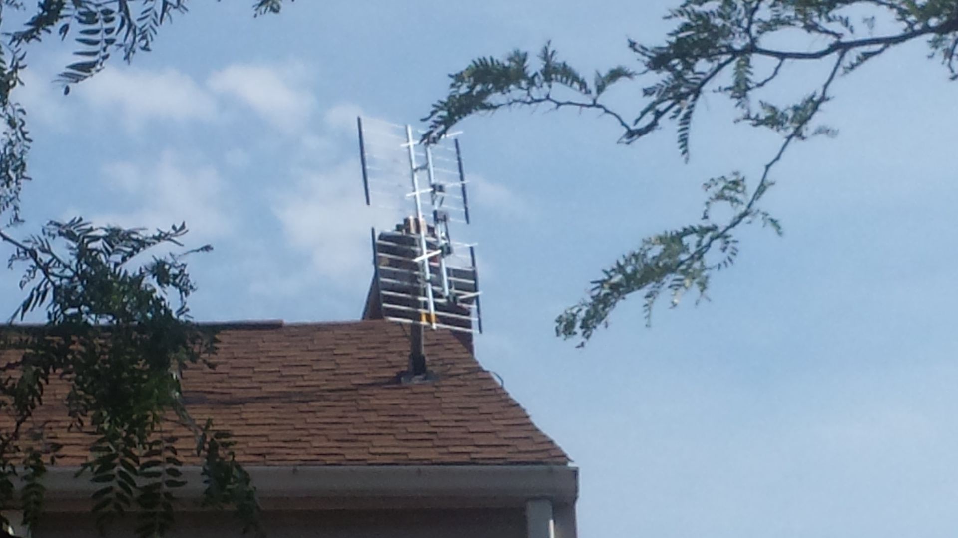 Hdtv Rooftop Antenna installation - Wnycable