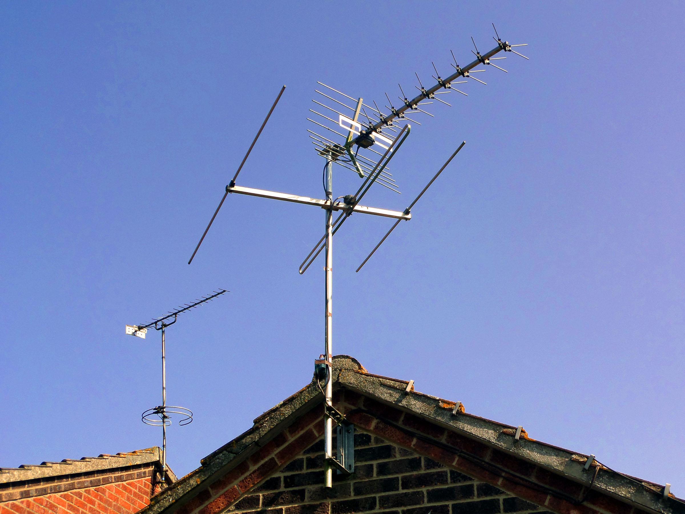 Rooftop Antennae, Antenna, Antennae, Antennas, Reception, HQ Photo