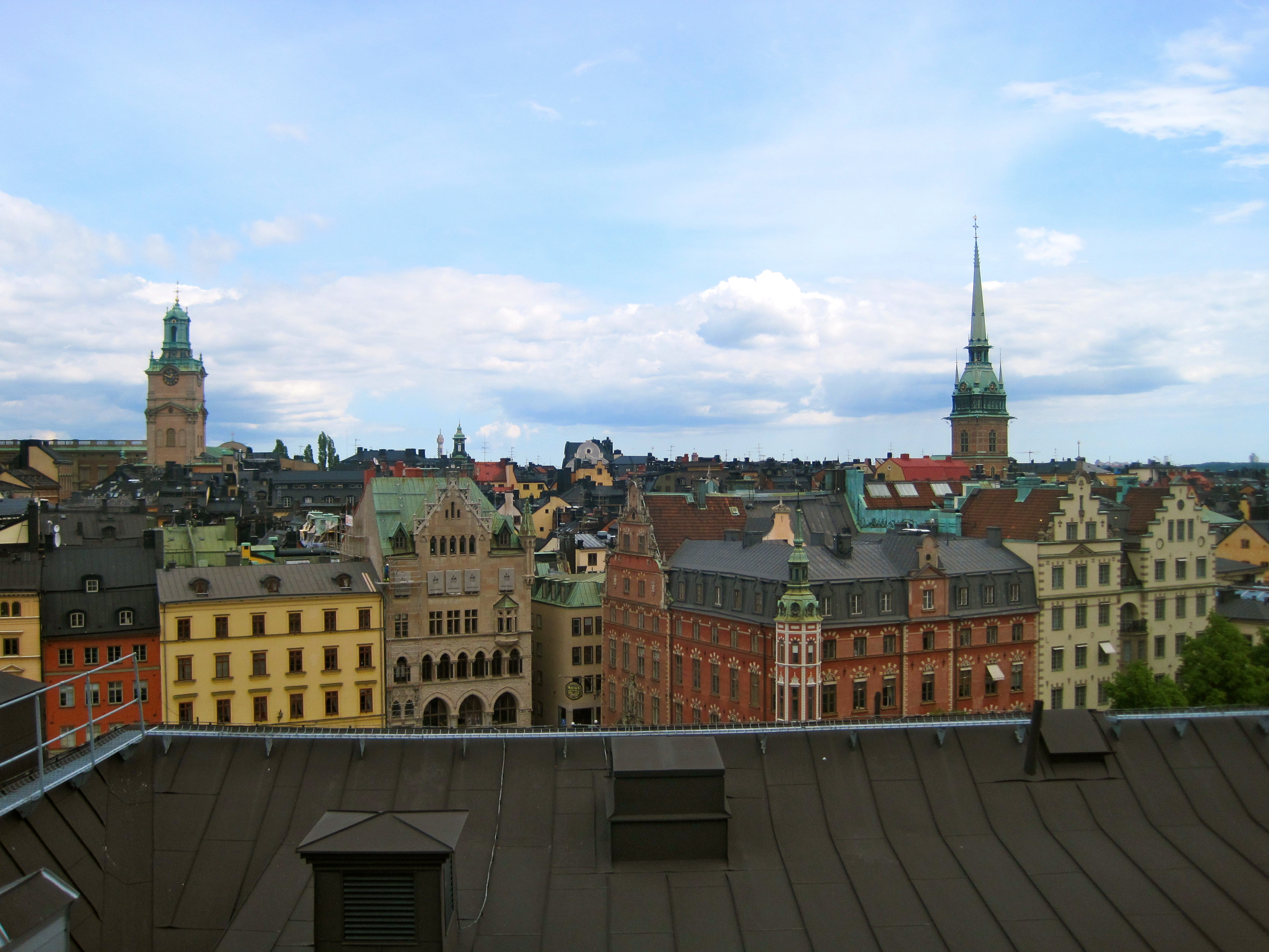 Cheating Death on Stockholm's Rooftops