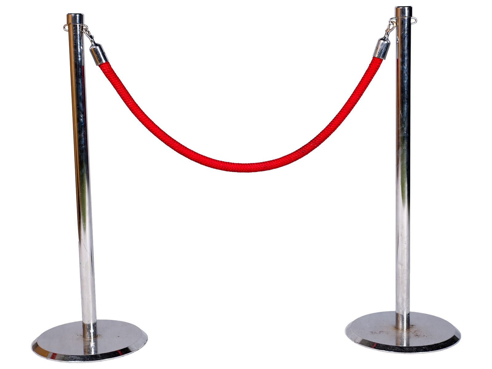 Barrier Rope w. Poles - 1.5m – Celebrate! Party Hire