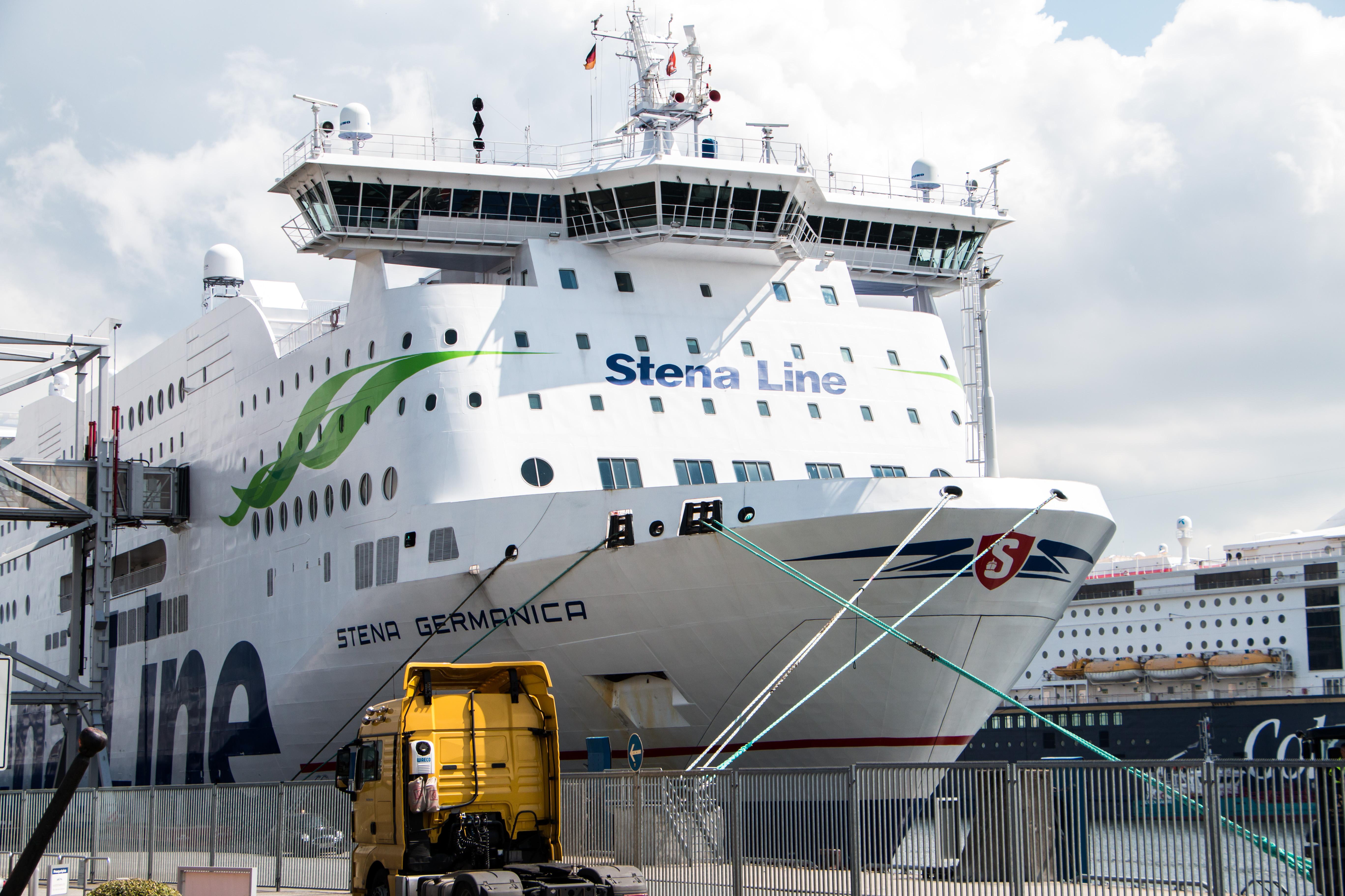 Roro Ropax Ship, Energy, Green, Kiel, Line, HQ Photo
