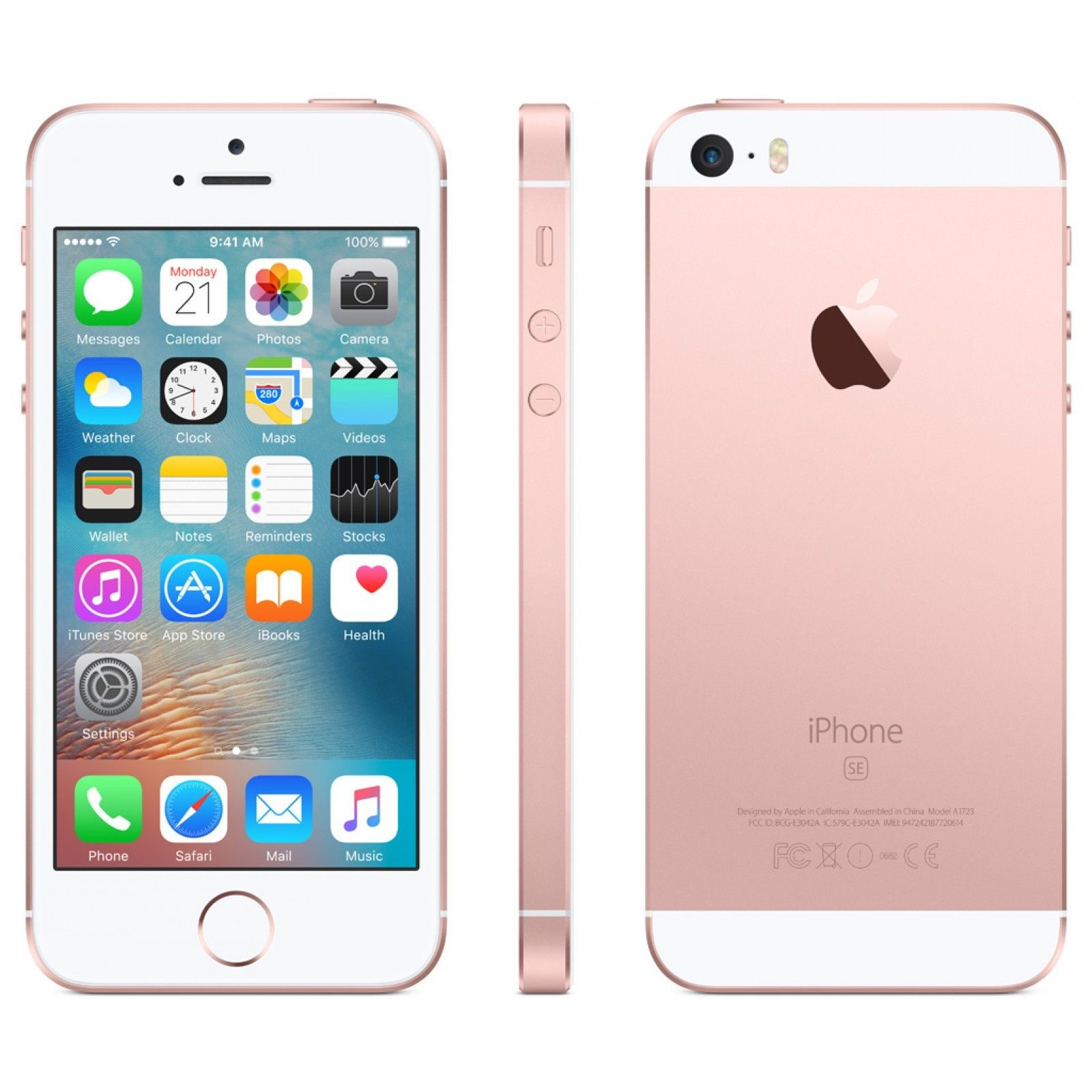 Apple iPhone SE - 64GB - Rose Gold (T-Mobile) A1662 (CDMA + GSM) | eBay