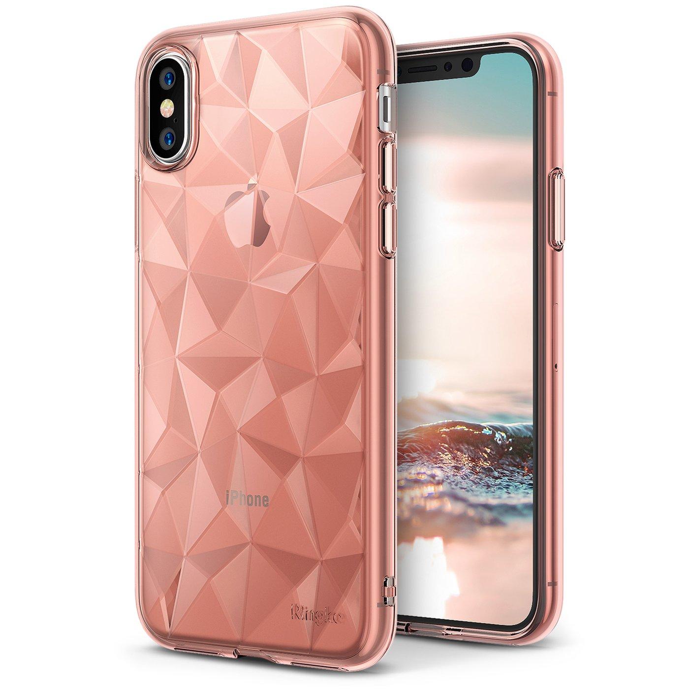 iPhone X, [AIR PRISM] Rose Gold [Sale] – Ringke