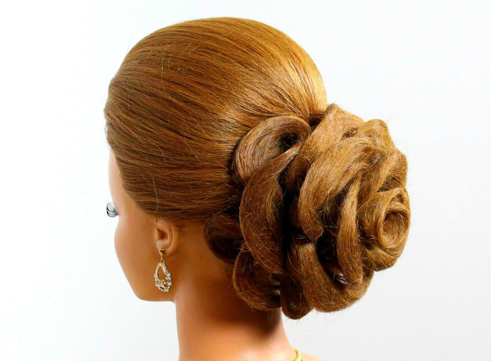 Free photo Rose Hairstyle , Bridal, Woman, Wedding , Free