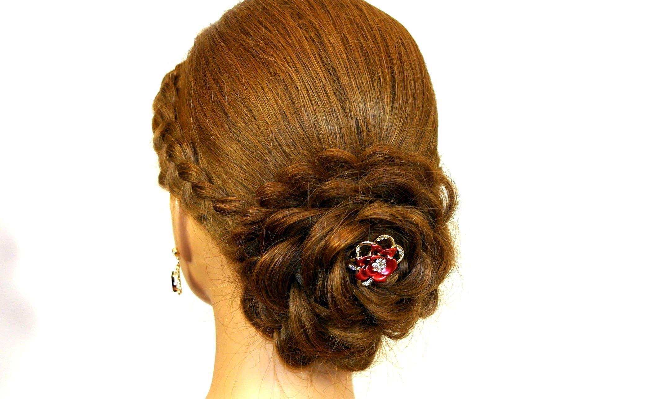 Free Photo Rose Hairstyle Pinned Posh Modern Free Download