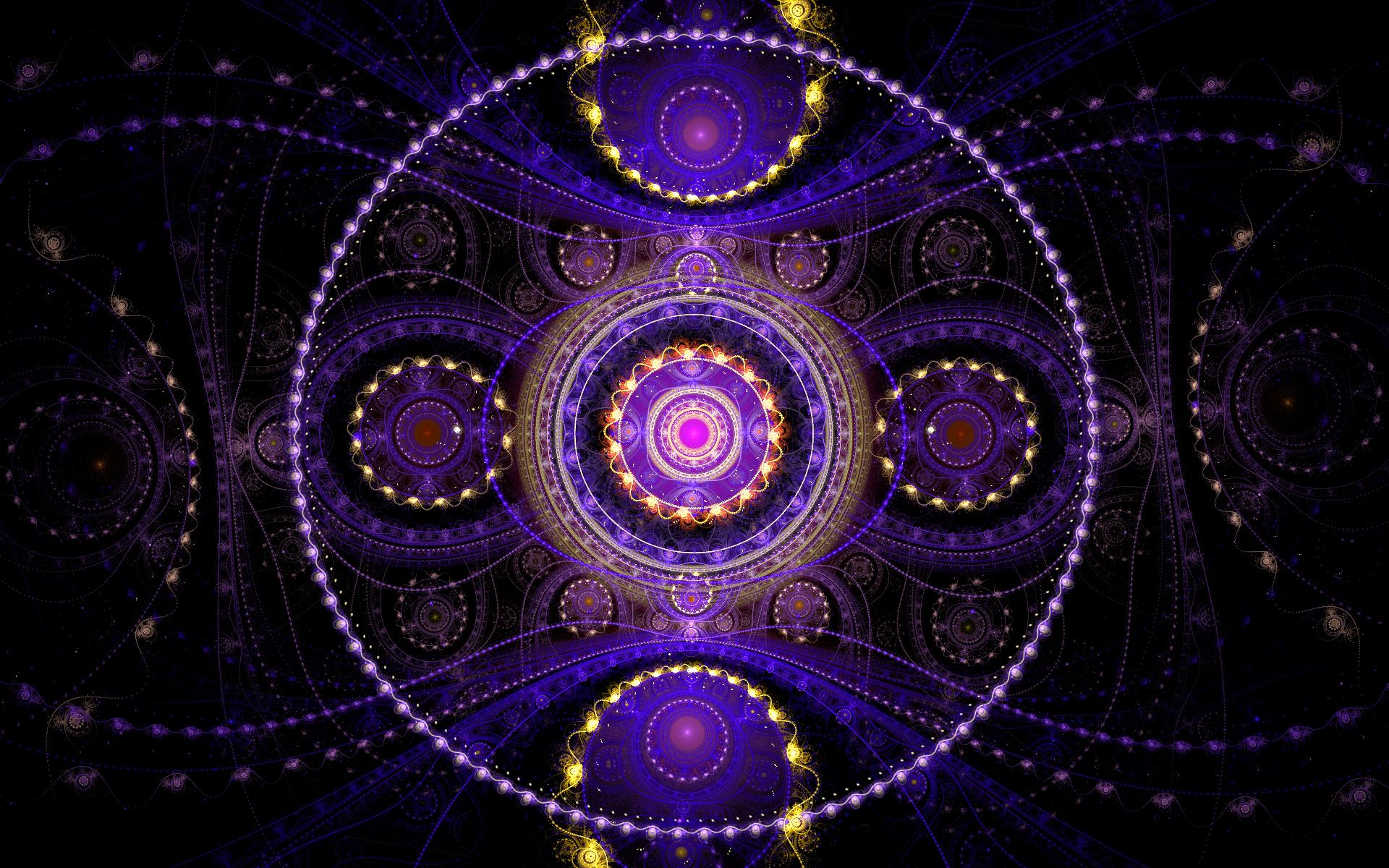 Rotary fractal pattern photo