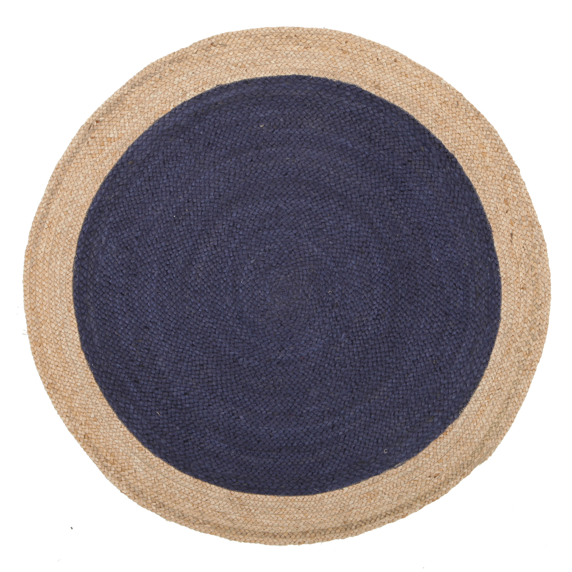 Network Jasmine Round Navy Rug & Reviews | Temple & Webster