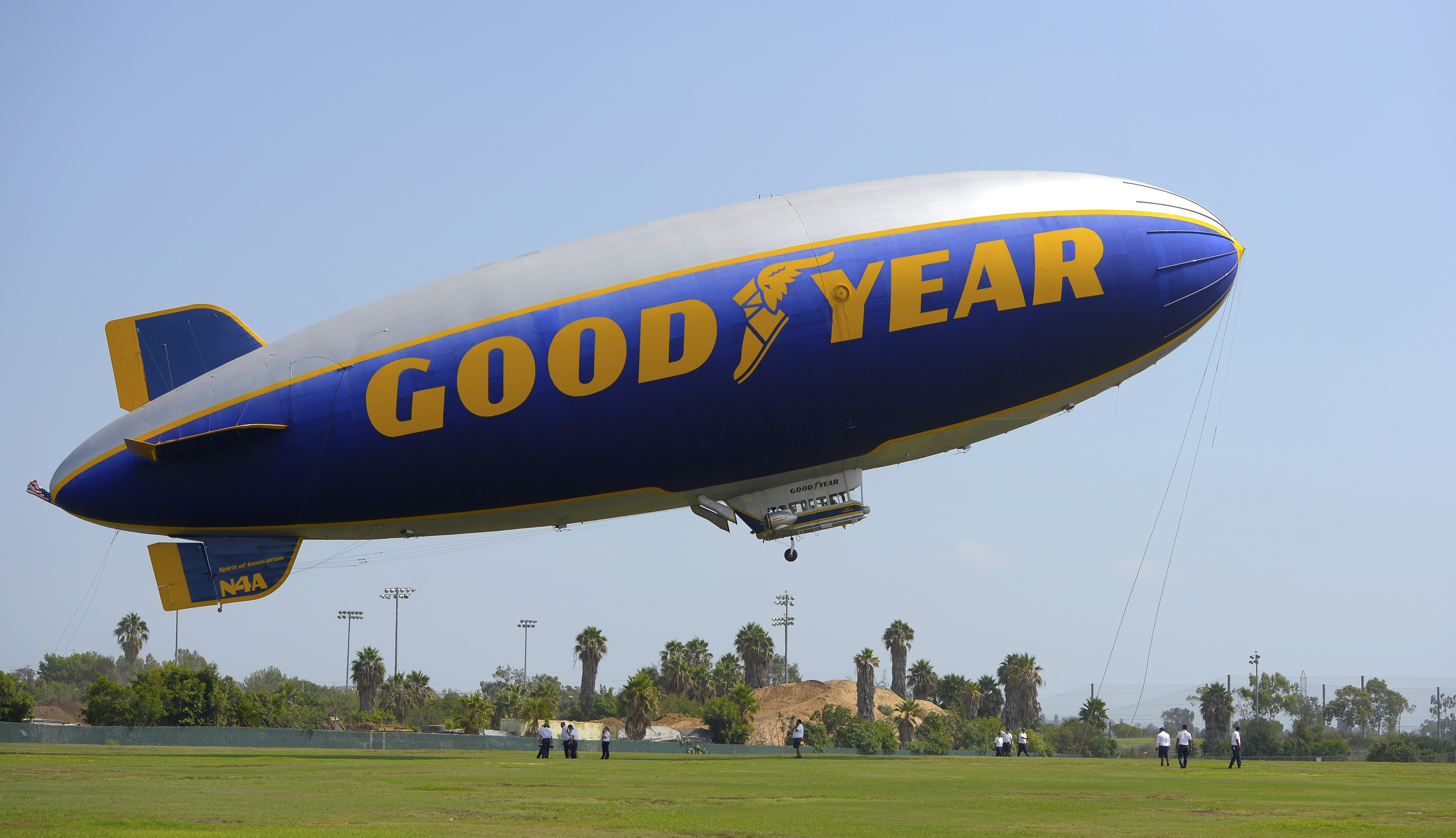 Here's how you can say goodbye to the retiring Goodyear blimp ...