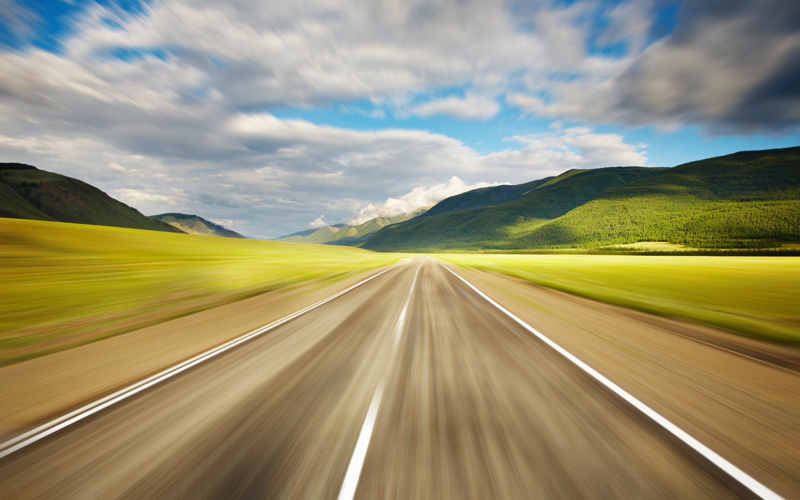 État de la route au Botswana - Motorokara.com