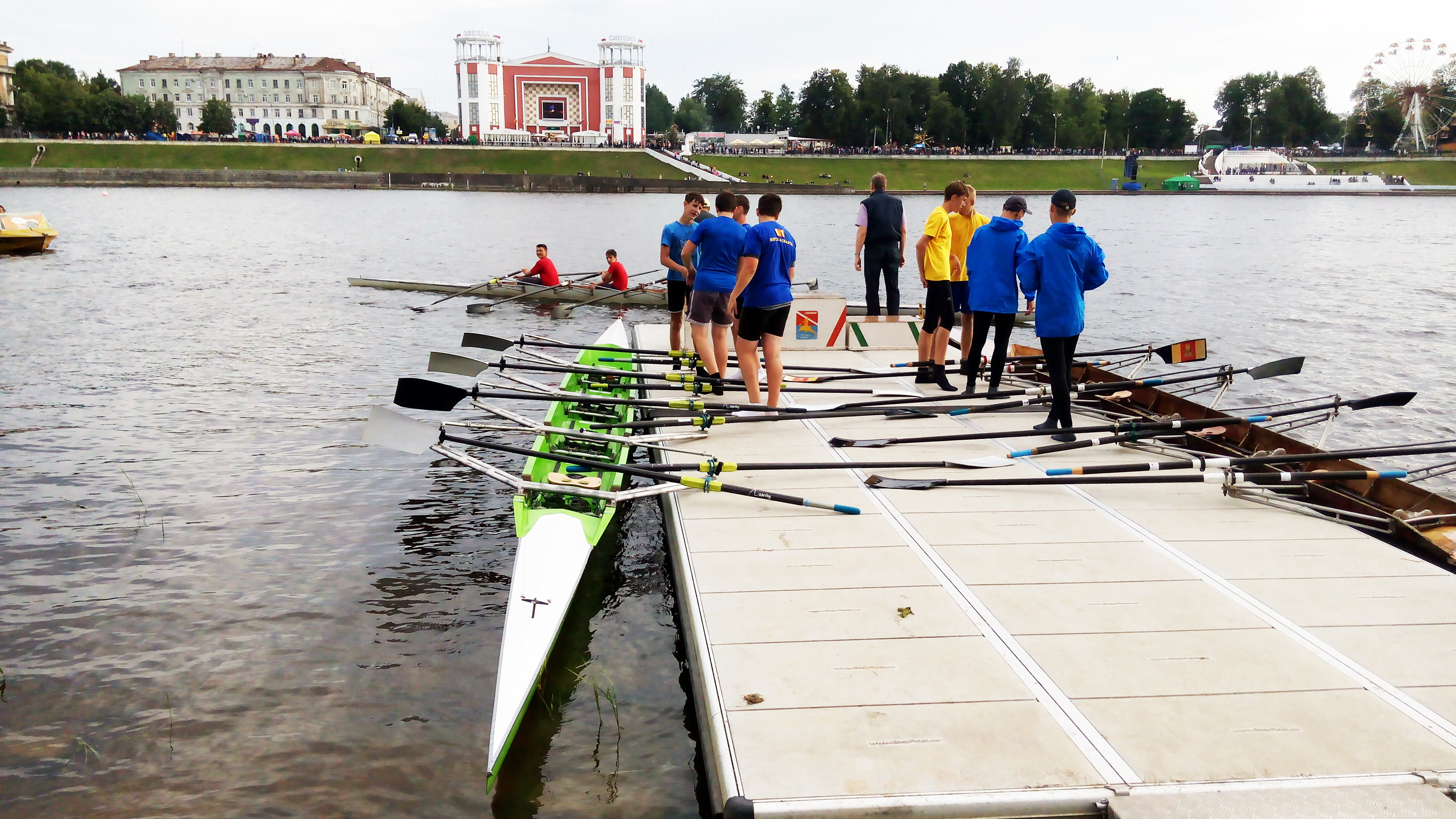 Rowers in tver photo